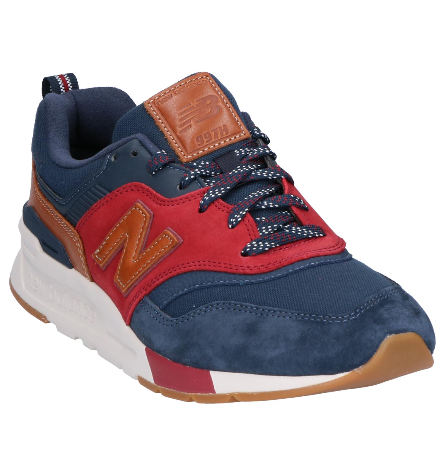 New Balance CM 997 Blauwe Sneakers   SCHOENENTORFS.NL ...