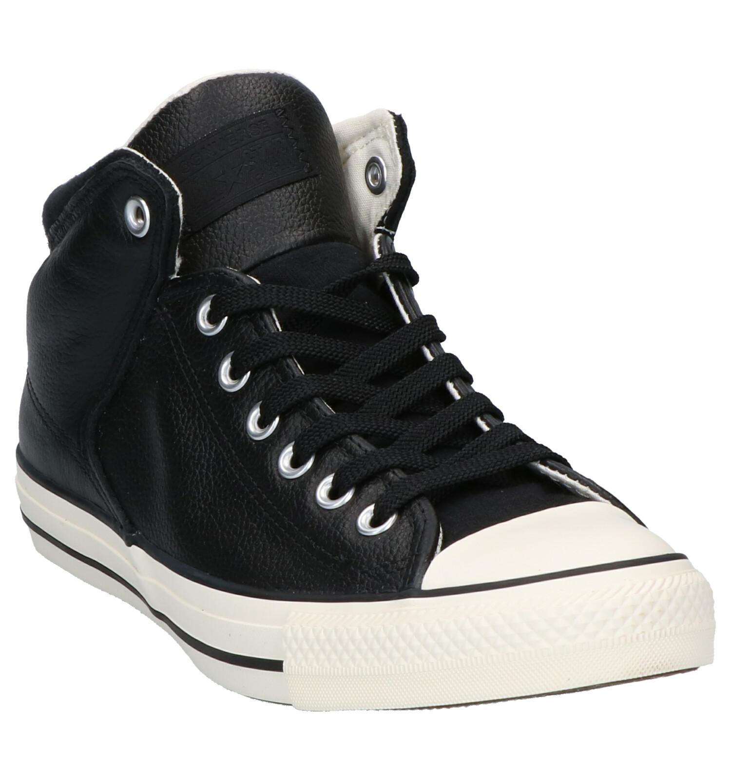 As Converse High Sneakers Street Zwarte Yf76Ibvgy