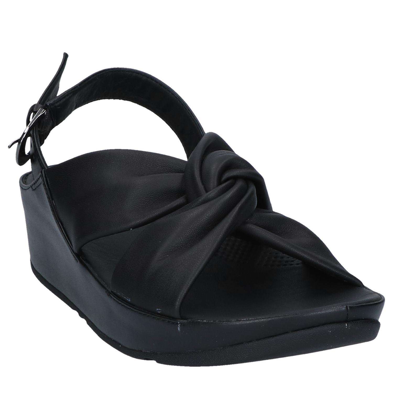 Twiss Fitflop Fitflop Twiss Zwarte Sandalen Sandalen Zwarte QxBshtrdCo