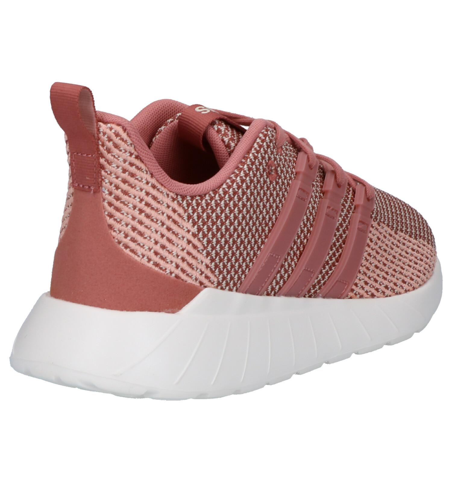 Flow Roze Questar Adidas Adidas Flow Sneakers Questar Roze WDE9Ie2HY