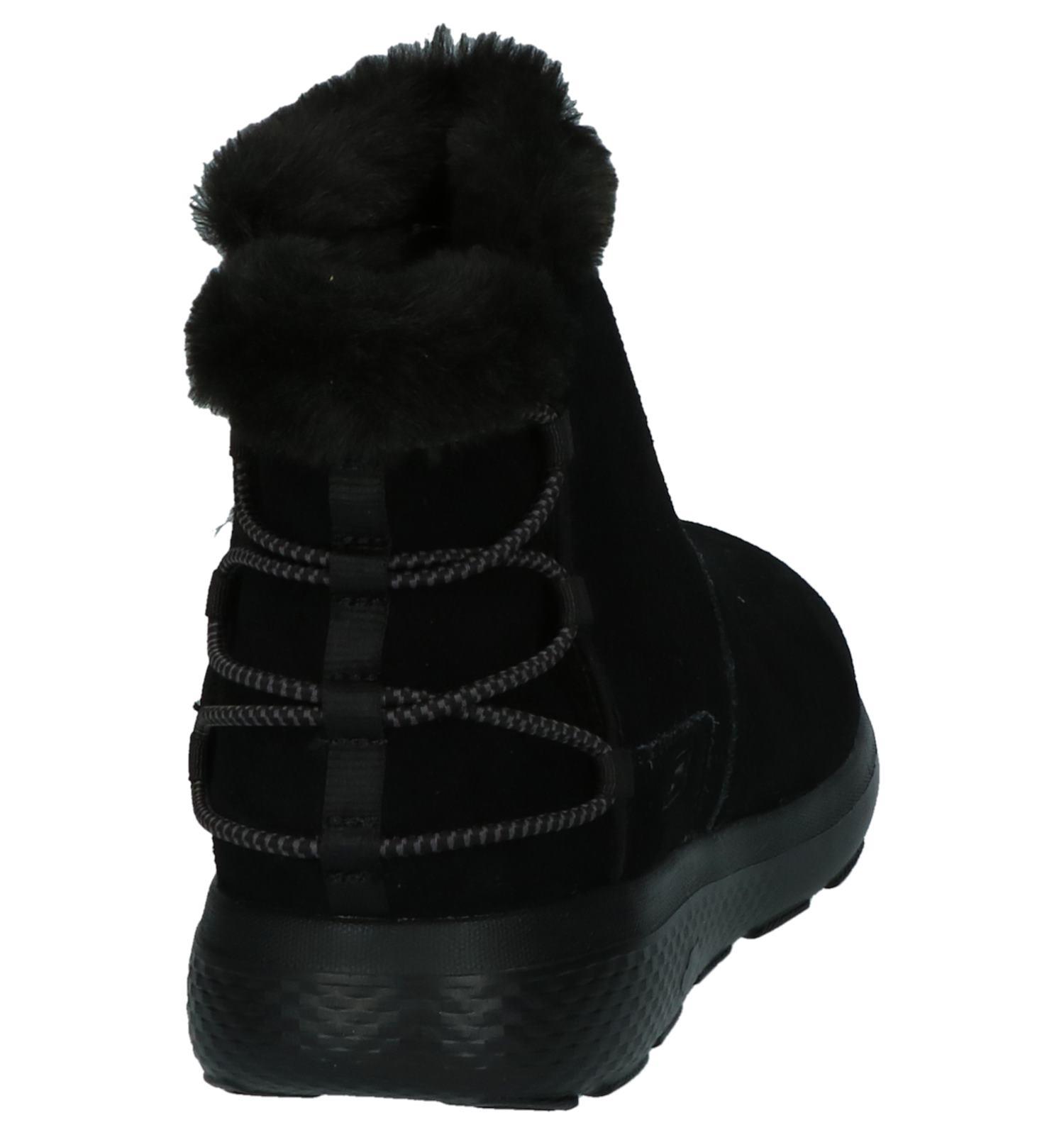 Boots Met Zwarte Zwarte Elastiek Skechers Boots j54ARL