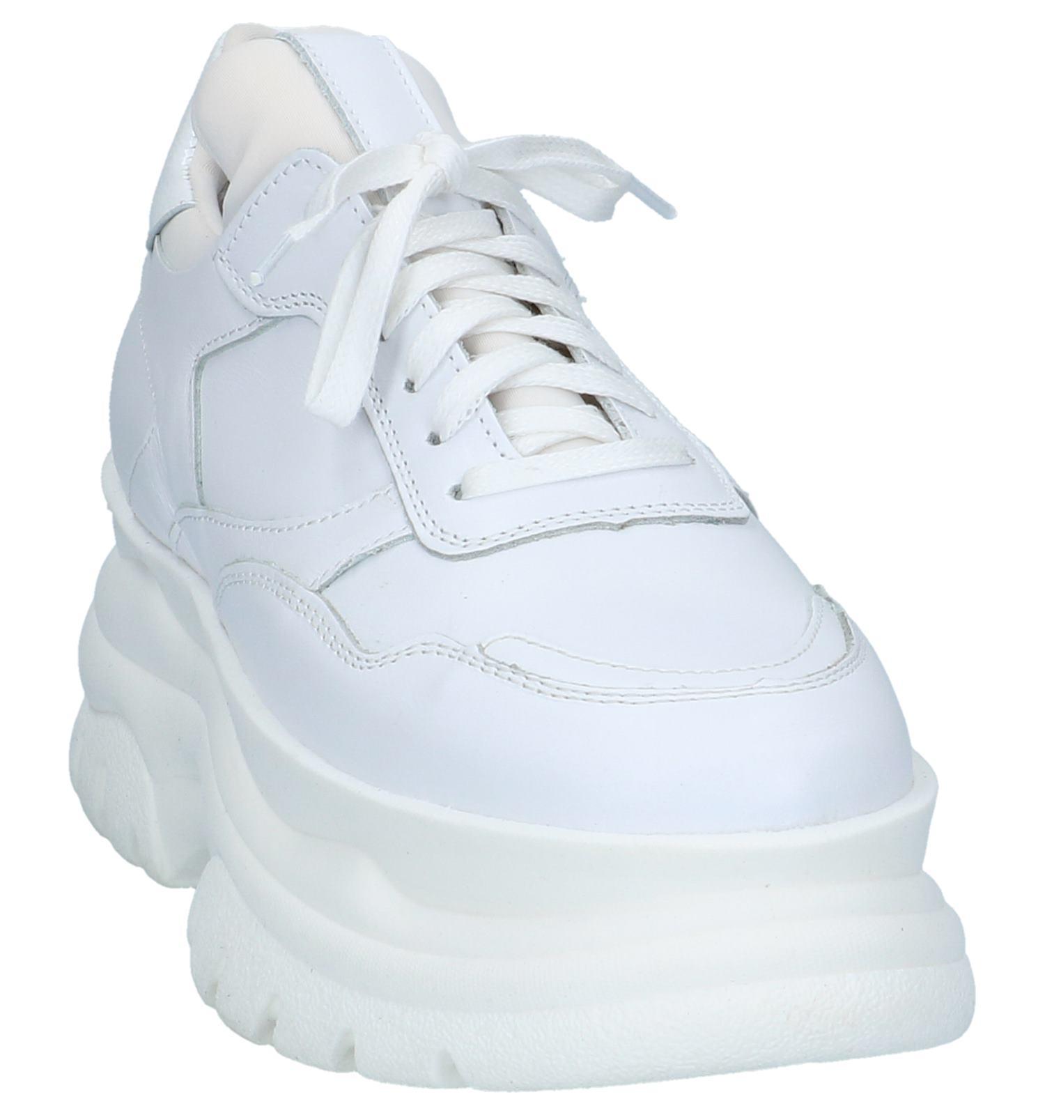 Lage Lage Witte Poelman Witte Poelman Poelman Sneakers Witte Geklede Geklede Sneakers oxErCBQdeW