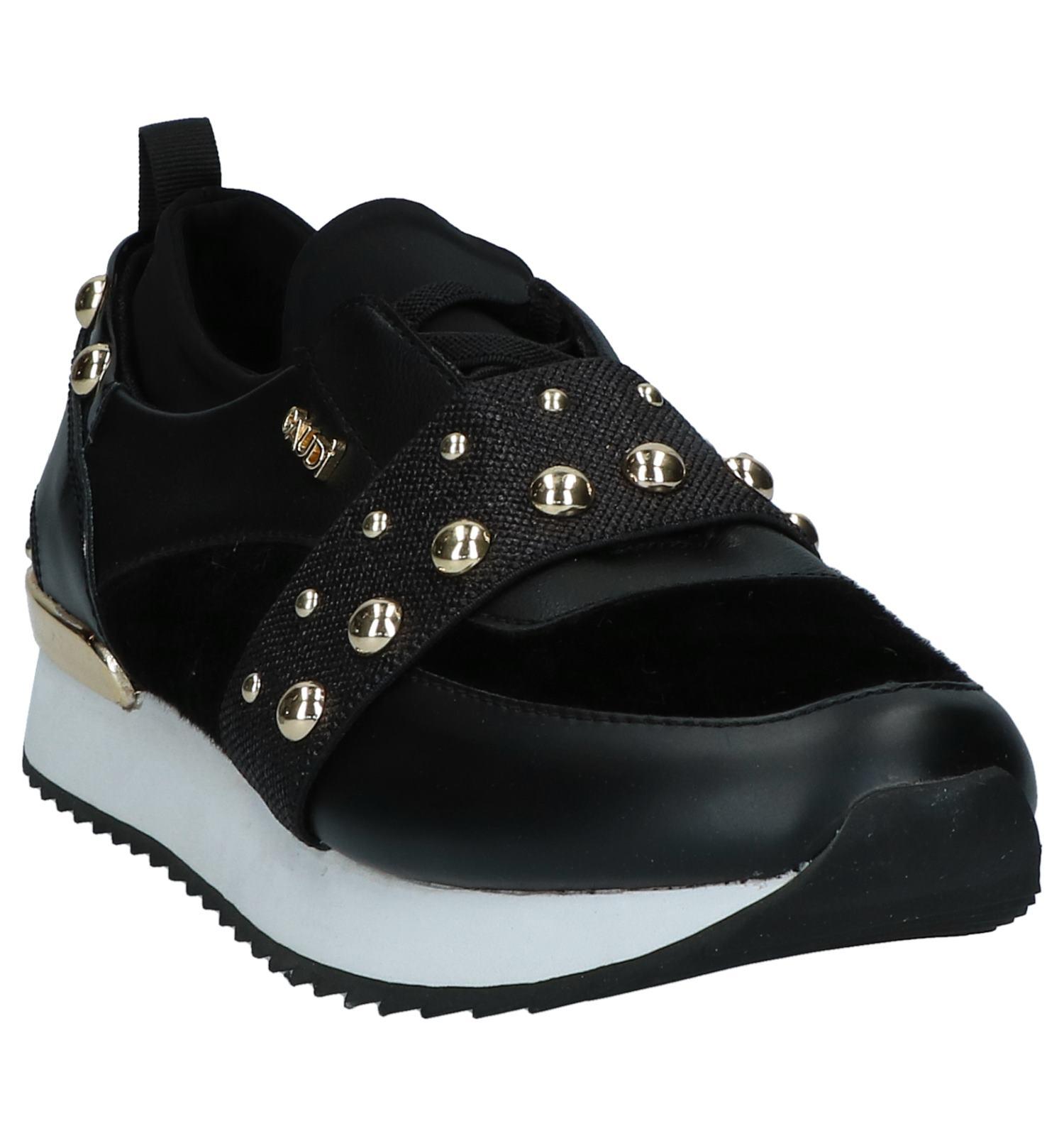 Zwarte on Slip Gaudi Carinne Sneakers IYf6y7gvb