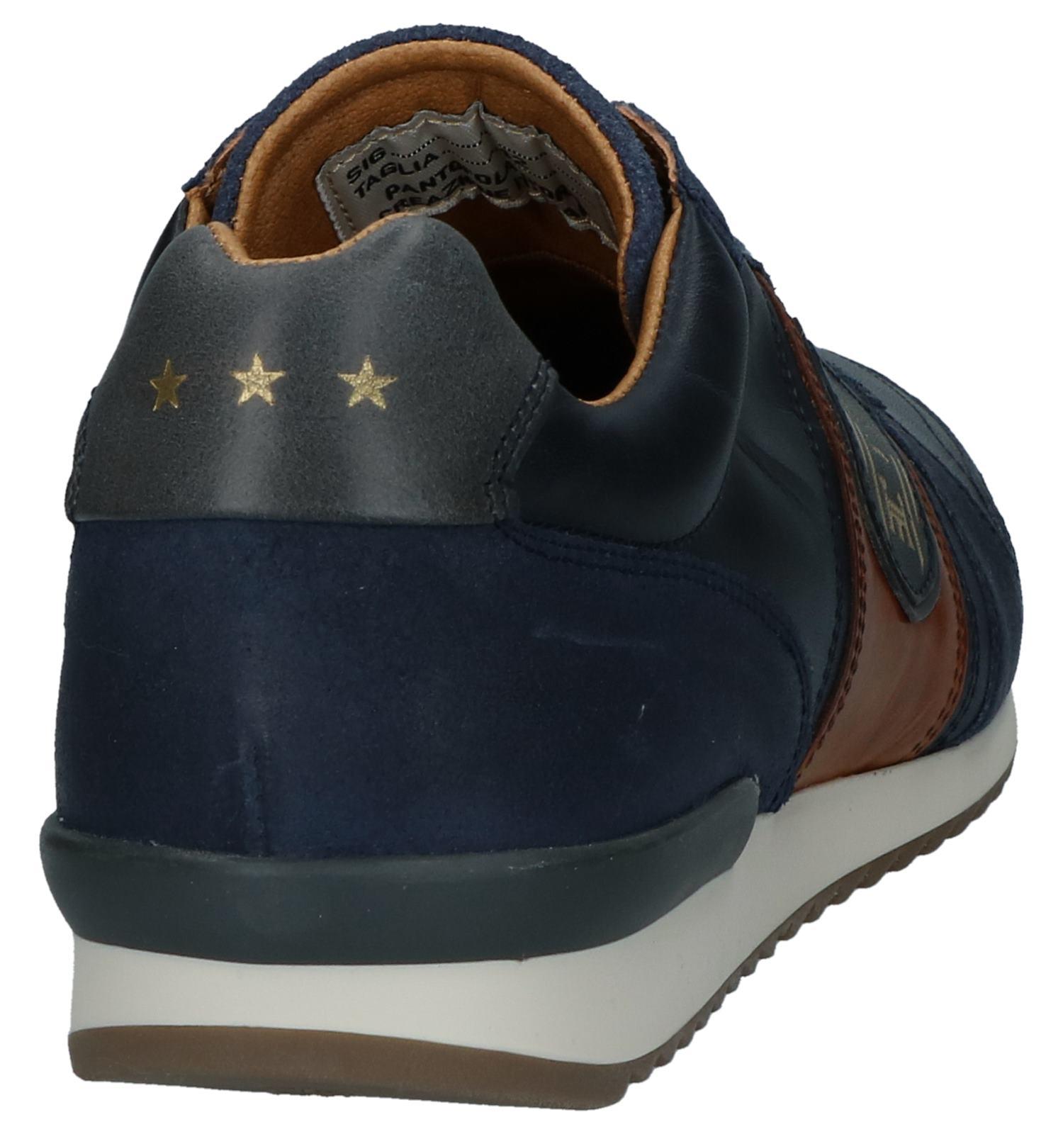Pantofola Low Donker Veterschoenen Blauwe Casual D'oro Umito K1uJcl3FT
