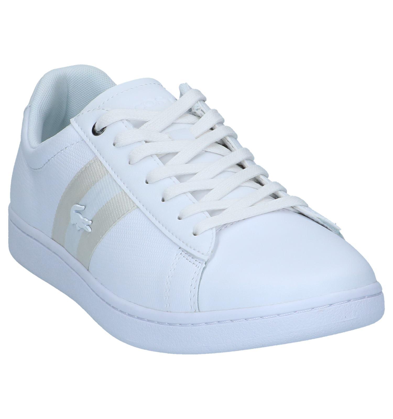 Lacoste Carnaby Evo Sneakers Witte Witte Sneakers N0wyvOP8nm