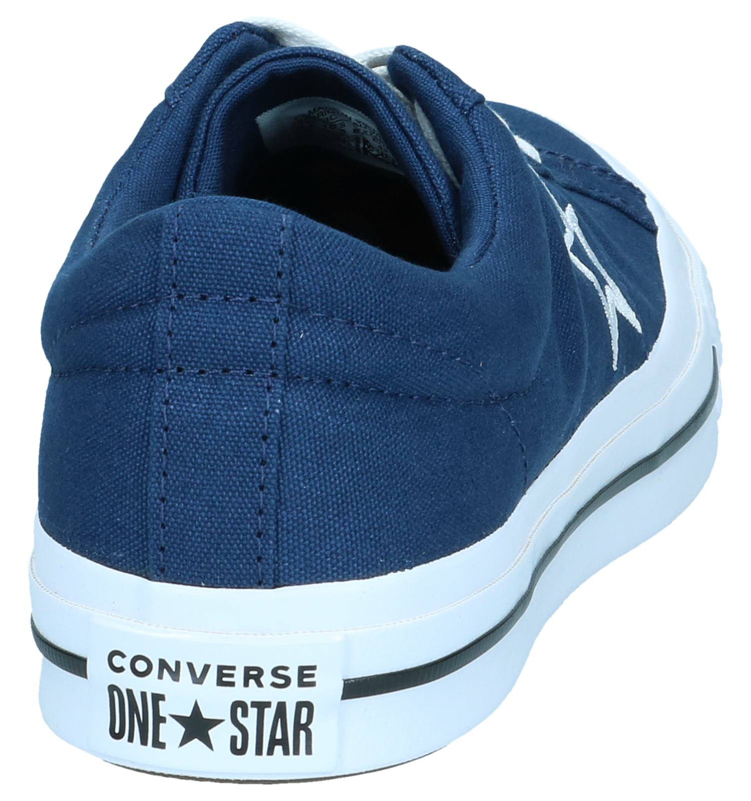 Ox One Star Donkerblauwe Sneakers Converse LqGSMVzUp