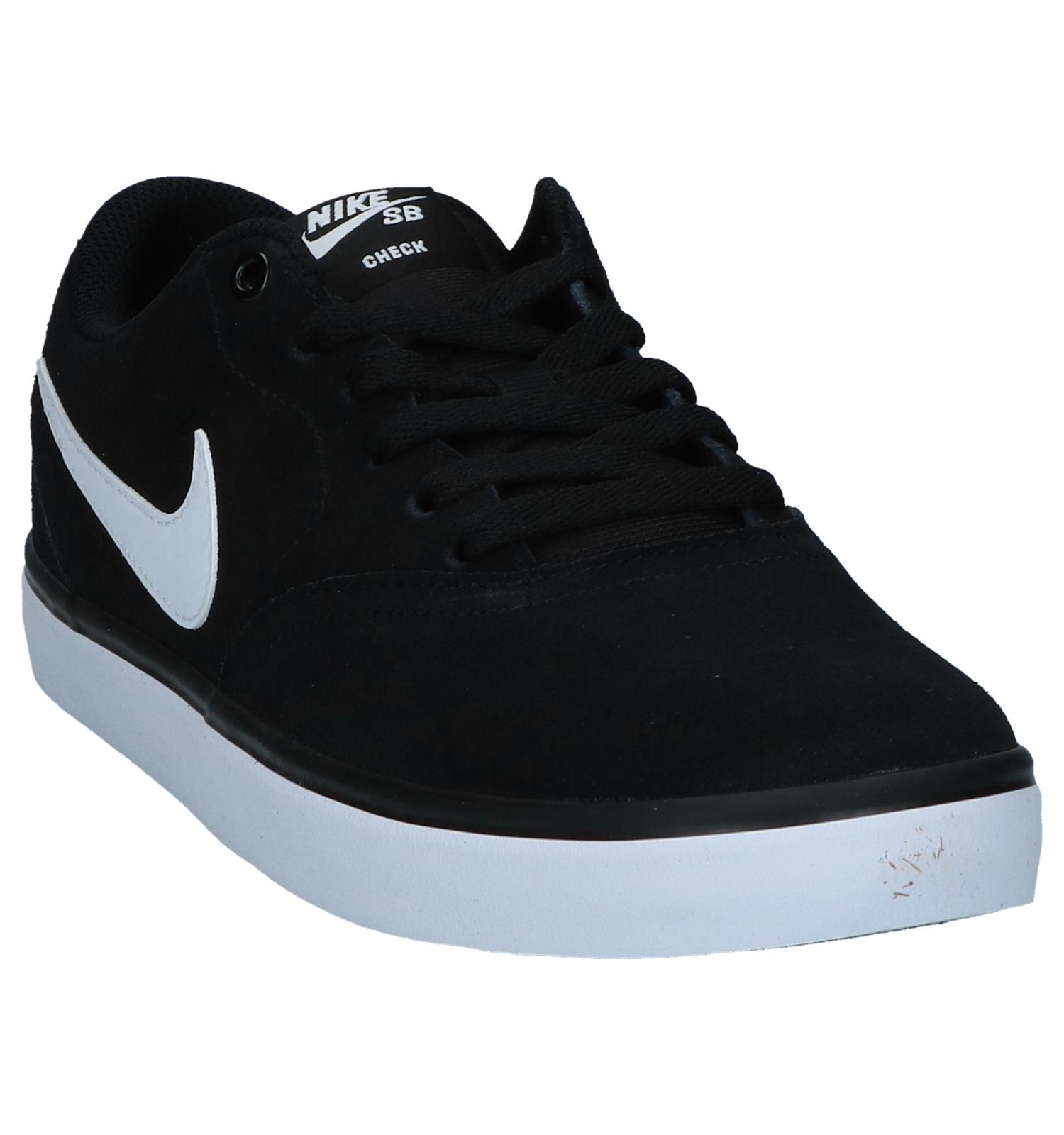 Sb Nike Check Solar Zwarte Skateschoenen CxodBe