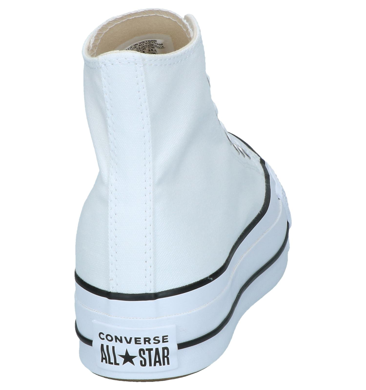Taylor Sneakers As Lift Witte Converse Chuck Hi QBCEWrdxoe