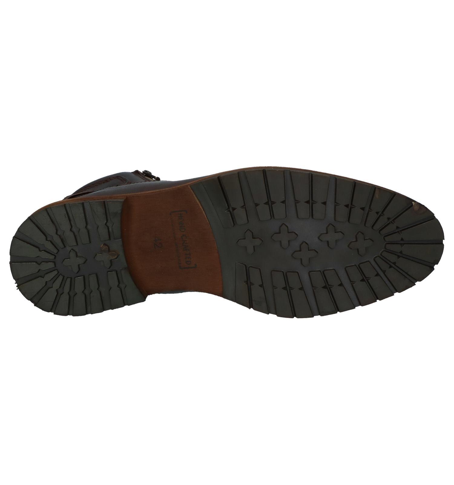 Bruine Bullboxer Boots Met Rits veter mn0vN8w