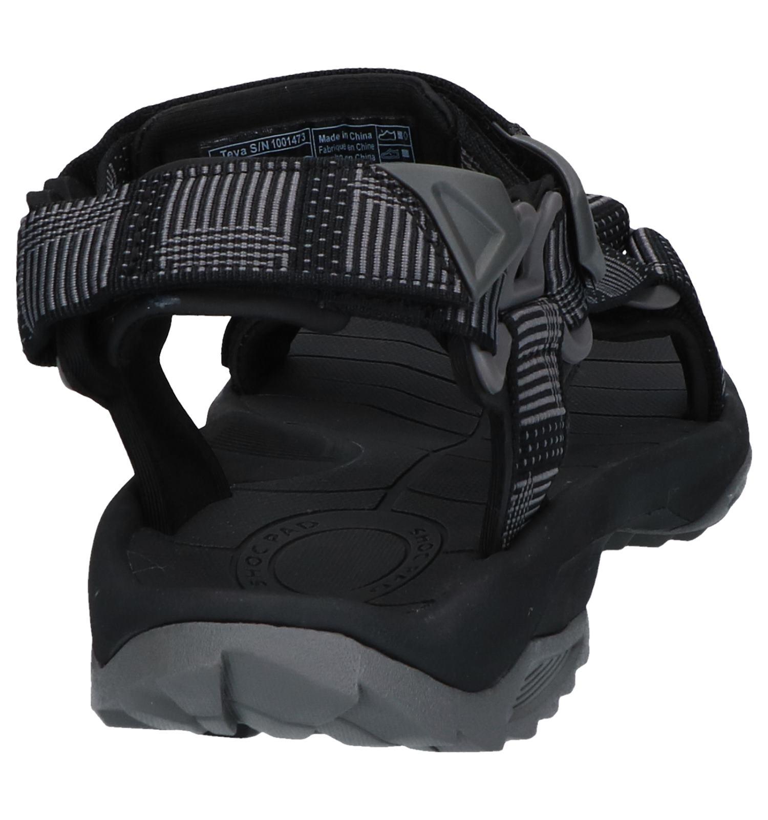 Terra Lite Zwarte Sandalen Teva Fi N80ymvnwOP