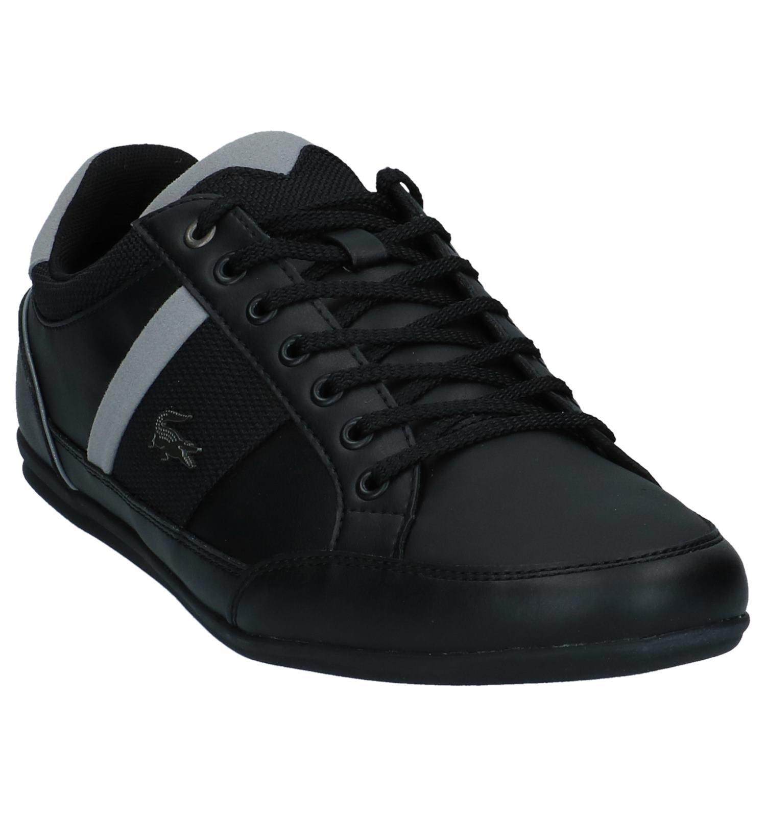 Schoenen Chaymon Casual Chaymon Lacoste Casual Zwarte Zwarte Lacoste Lacoste Schoenen WEIeDH29Y