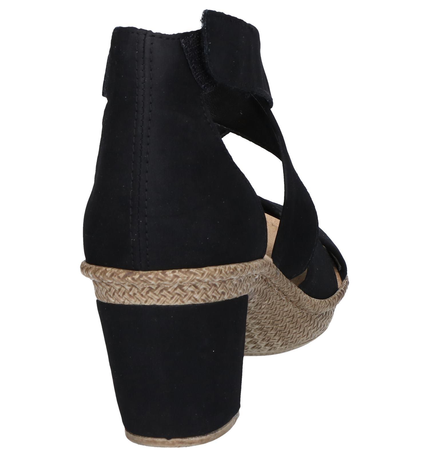 Sandalen Sandalen Rieker Zwarte Zwarte Sandalen Rieker Zwarte Rieker Zwarte AL3c5q4Rj