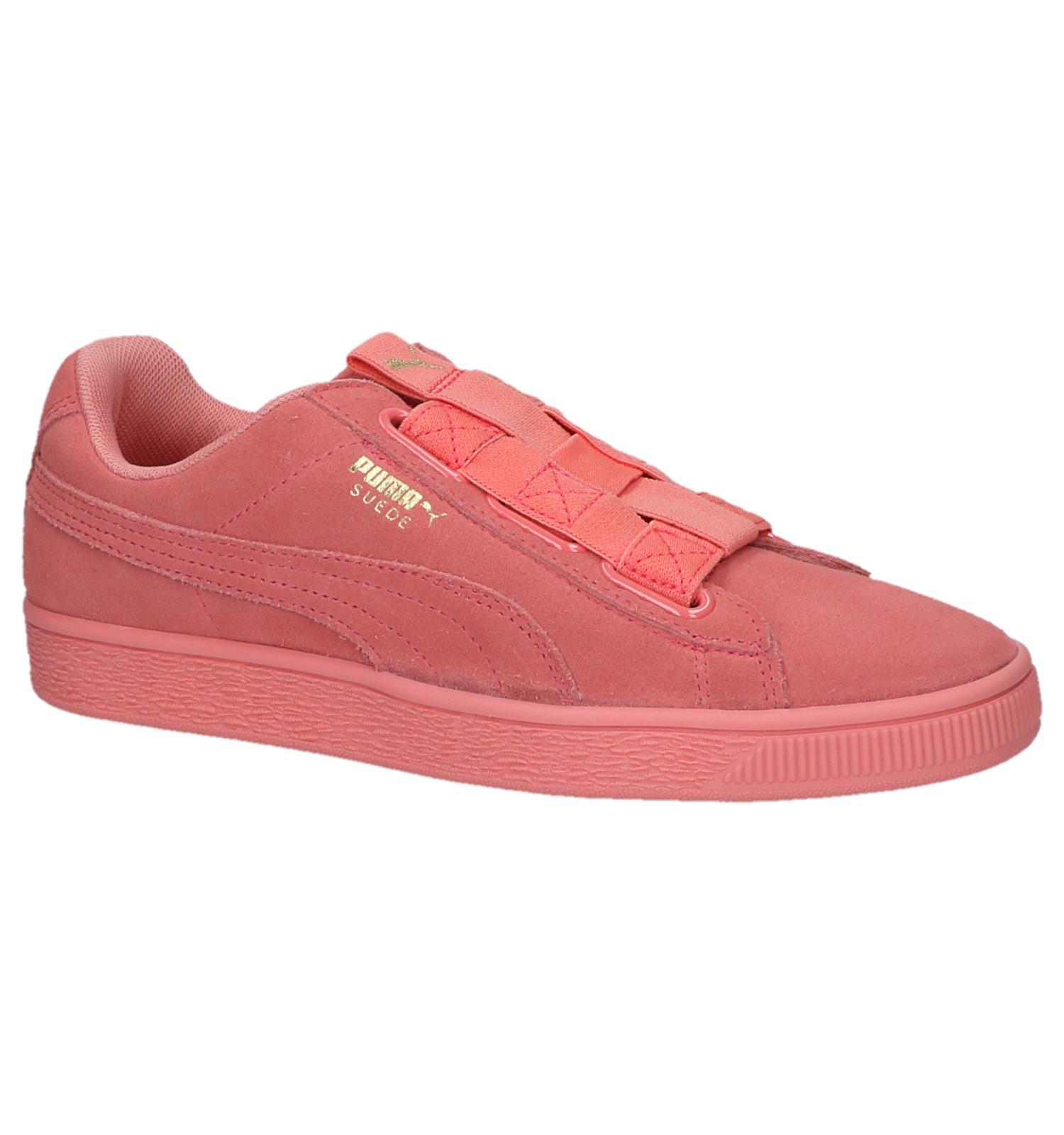 Roze Sneakers Puma Suede Maze | SCHOENENTORFS.NL | Gratis verzend en retour