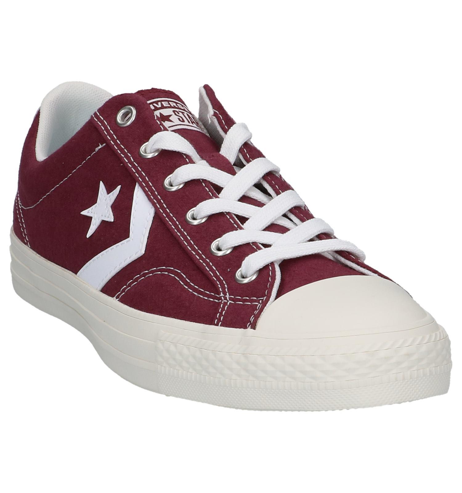 Bordeaux Sneakers Star Converse Sneakers Converse Player Bordeaux Player Star jSVpGMLUzq