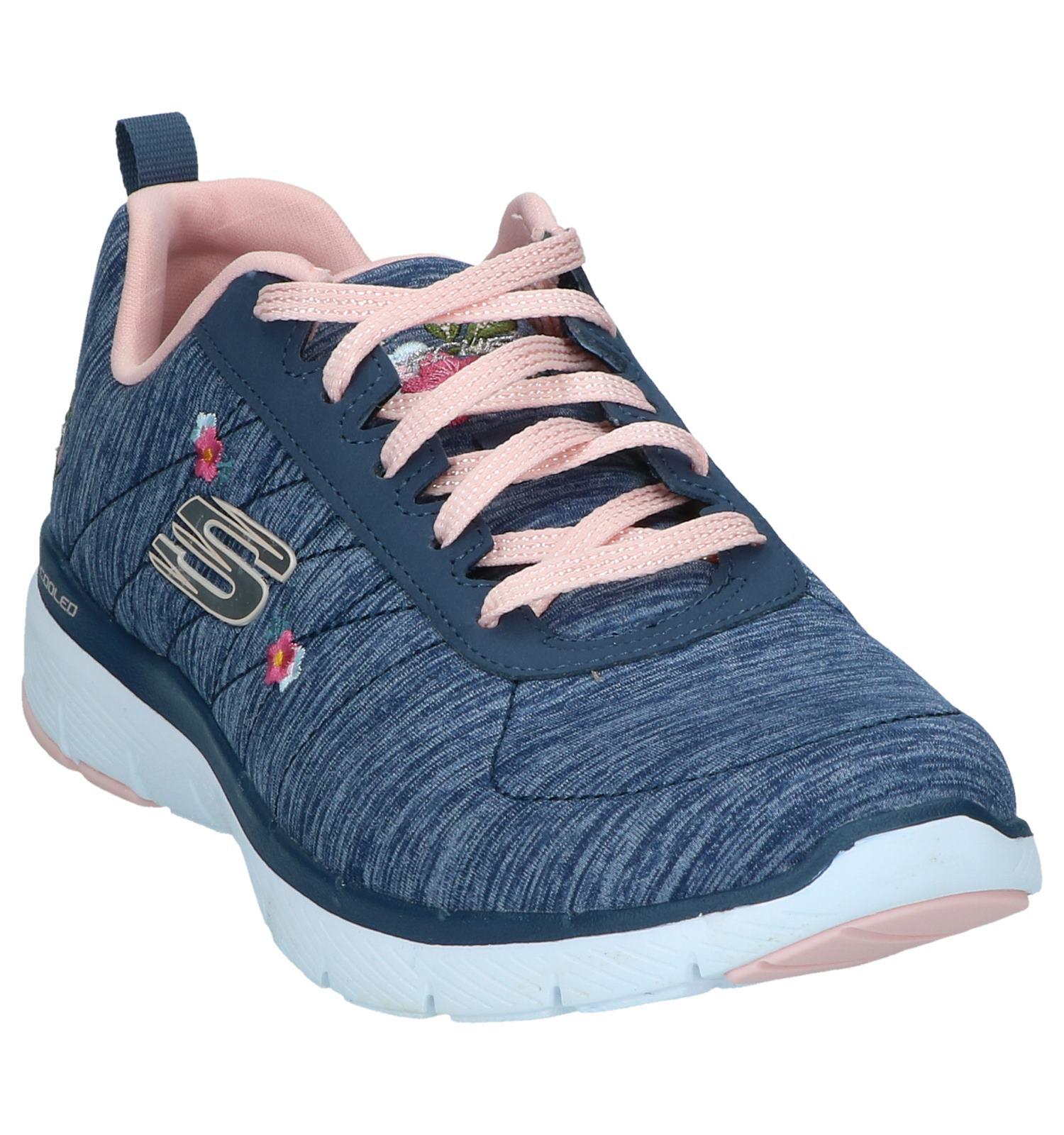 Appeal Sneakers 3 Skechers Flex 0 Blauwe Kc3l1TFJ