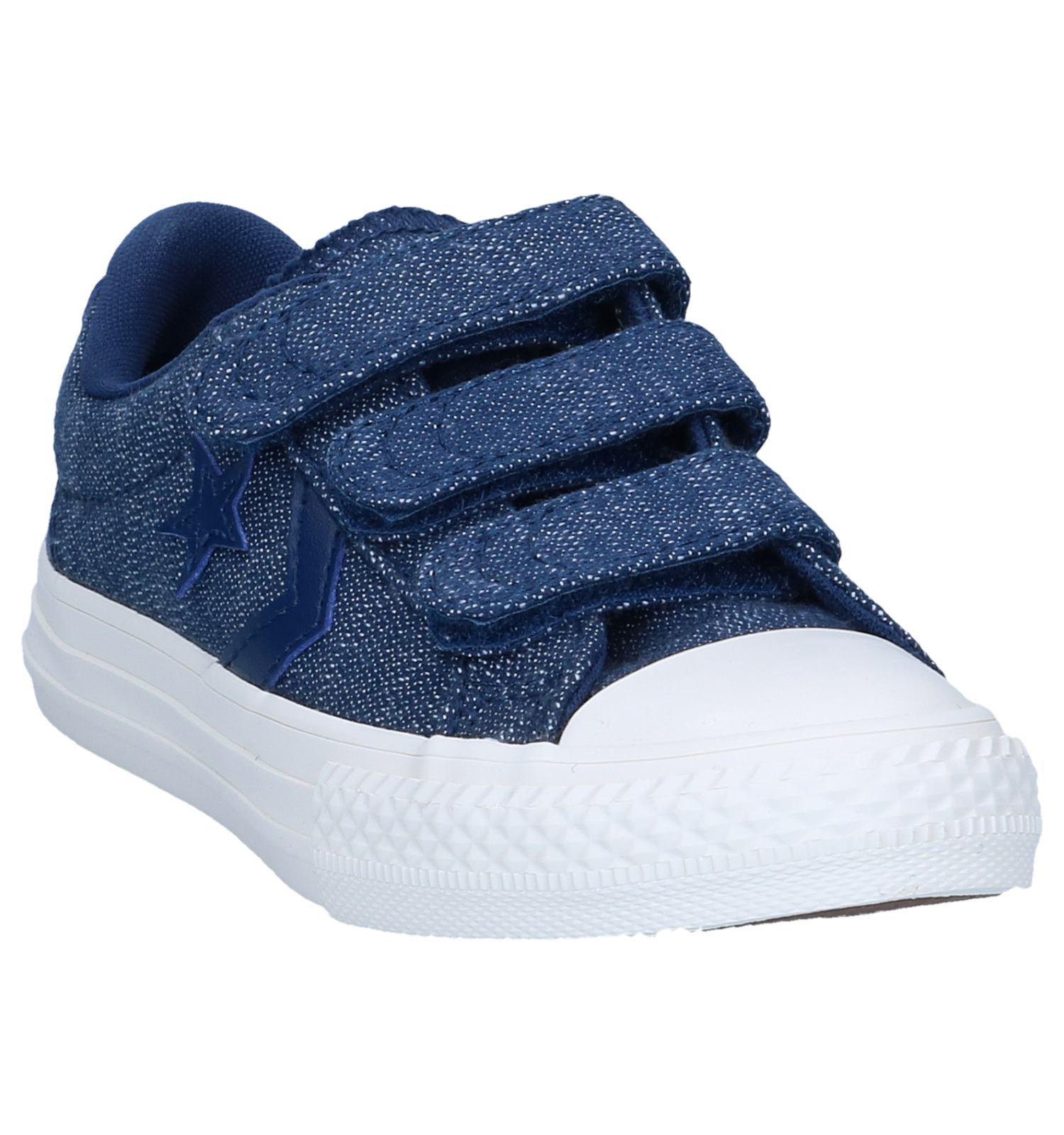 dac4dbffb91 Donkerblauwe Sneakers Converse Star Player 3V OX | SCHOENENTORFS.NL |  Gratis verzend en retour