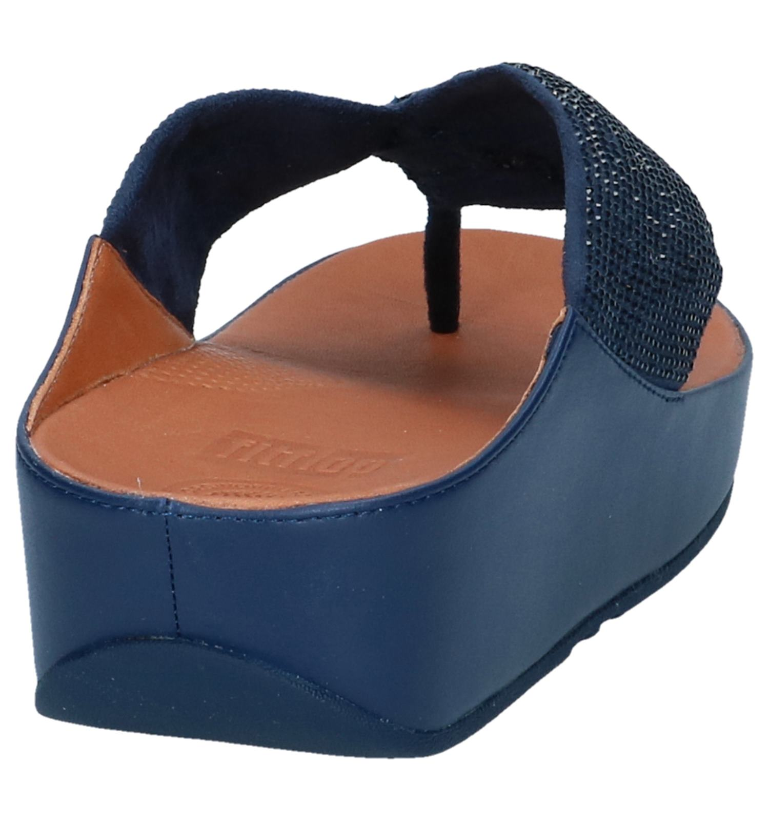 Twiss Donkerblauwe Crystal Slippers Fitflop xBWrdQCoe