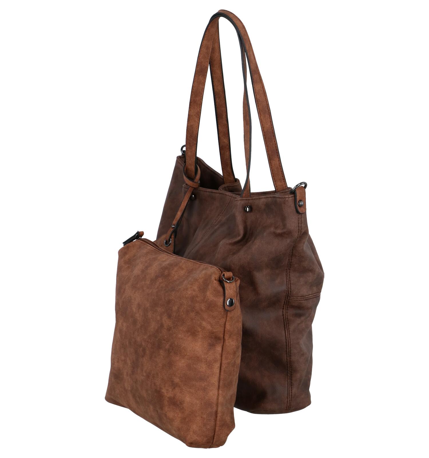 Shopper Donkerbruine Noah Bag Tas Emilyamp; In hCBrQodxts