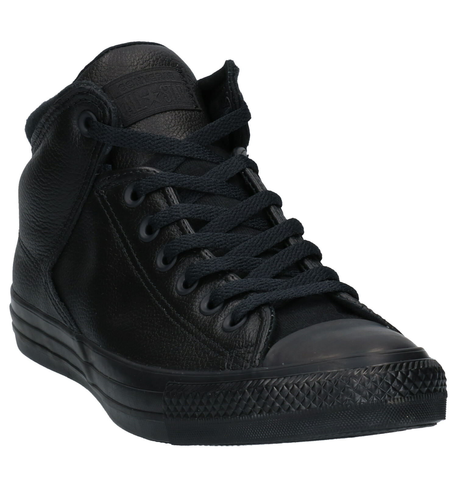 Converse As Sneakers Street Zwarte Hi H9YW2EDI