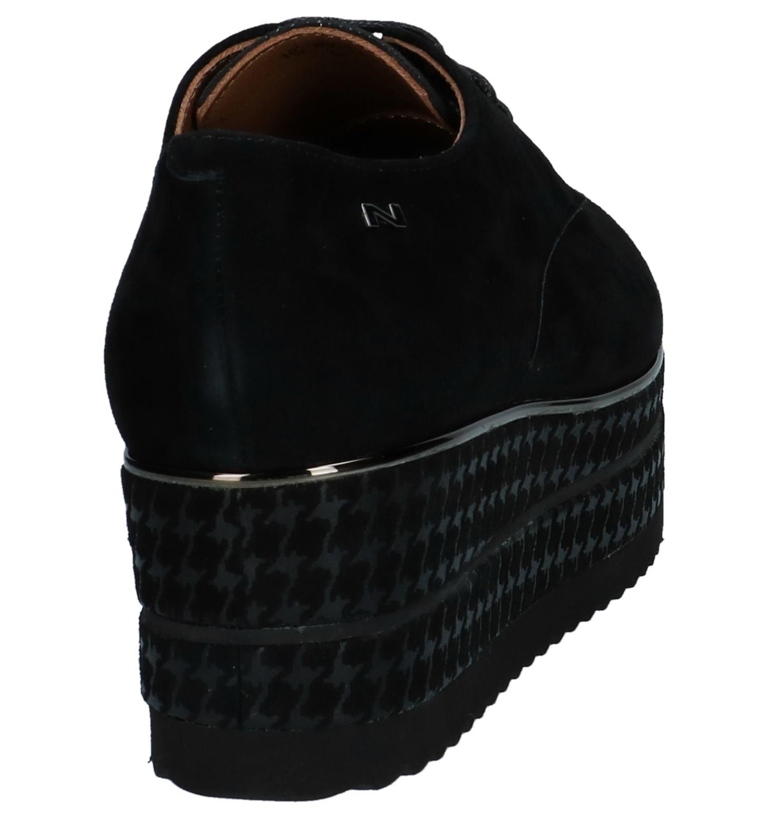 Veterschoenen Zwarte Oxford Nathan baume b7g6fy