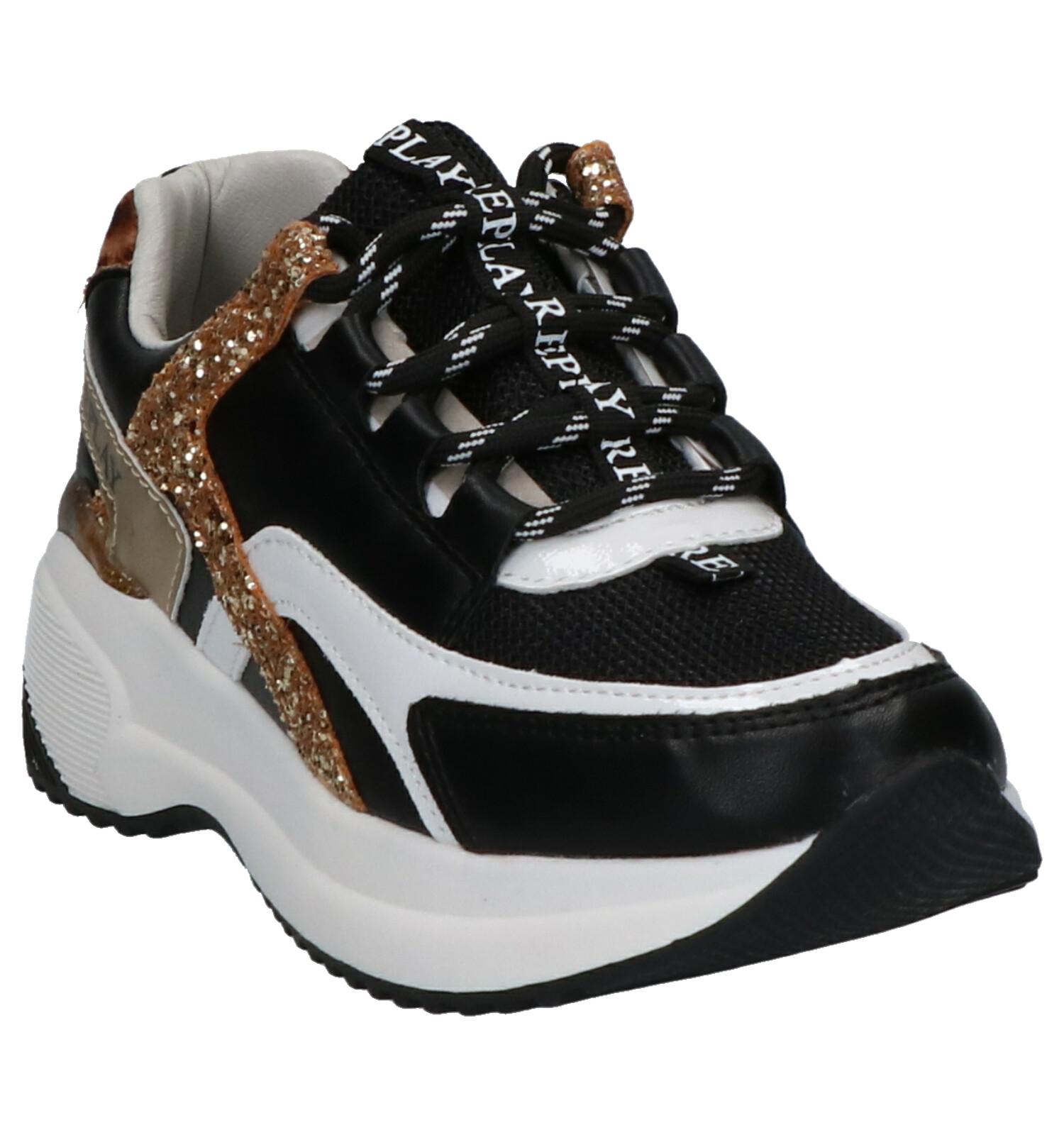 Replay Kumi Zwart Sneakers Replay Kumi Kumi Sneakers Replay Sneakers Zwart Zwart Replay iPkOXZu