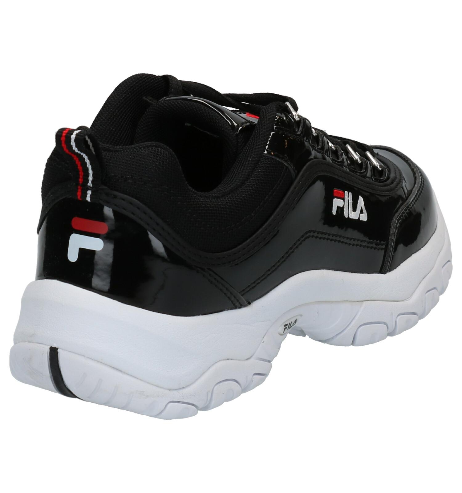 Fila Strada Zwarte Sneakers | SCHOENENTORFS.NL | Gratis