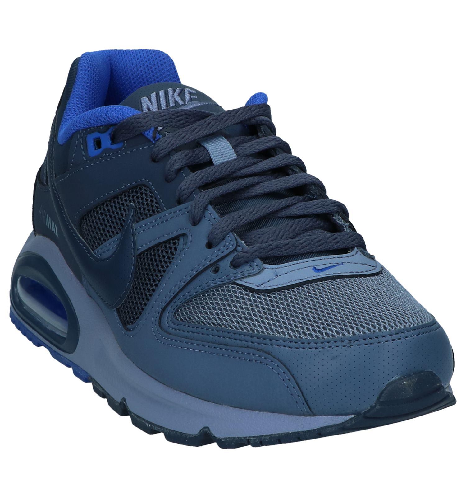 separation shoes a1ab4 61929 Blauwe Sneakers Nike Air Max Command  SCHOENENTORFS.NL  Gratis verzend en  retour