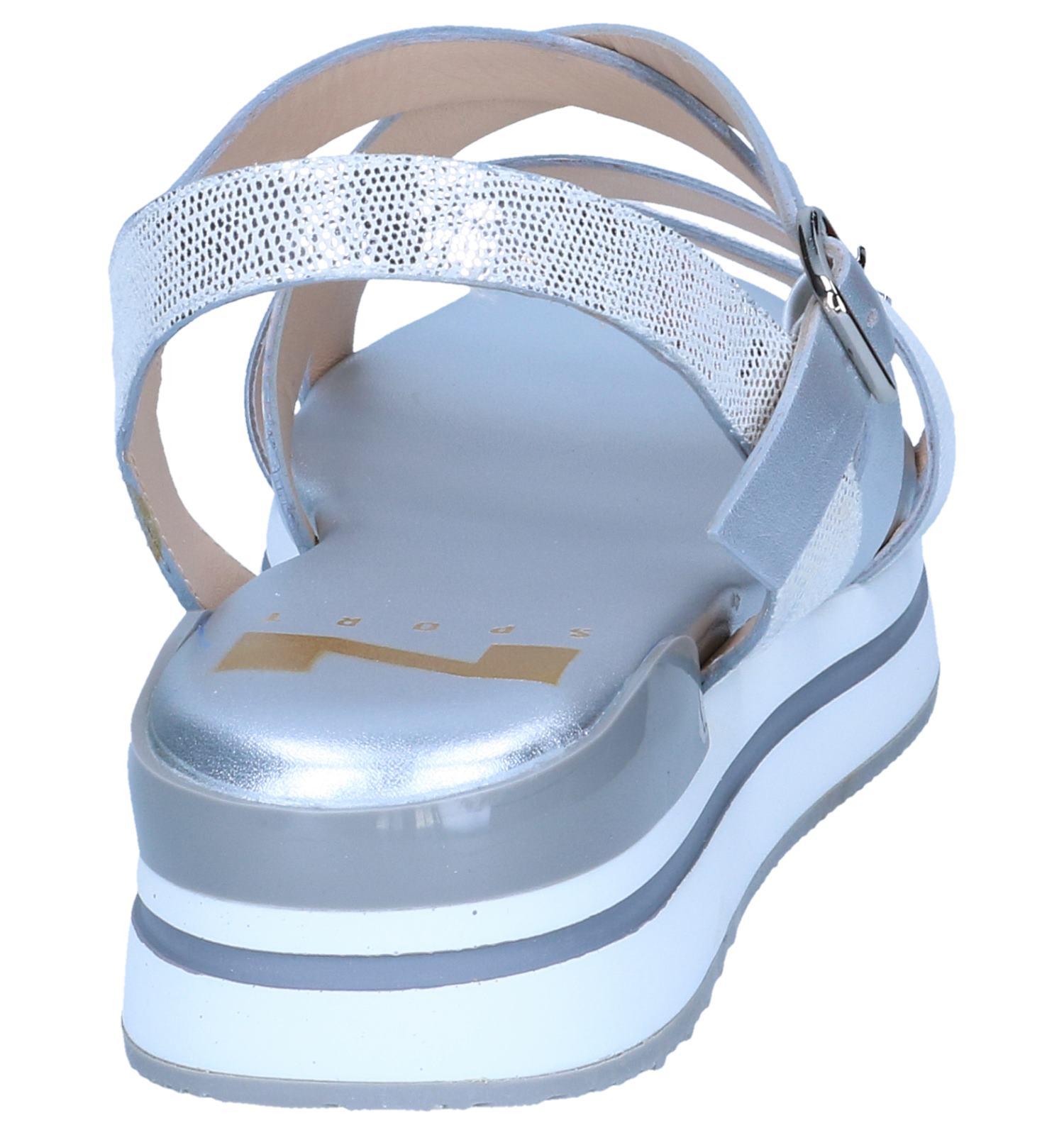 Nathan baume baume Zilveren Sandalen Zilveren Sandalen Nathan Lqc54RjS3A