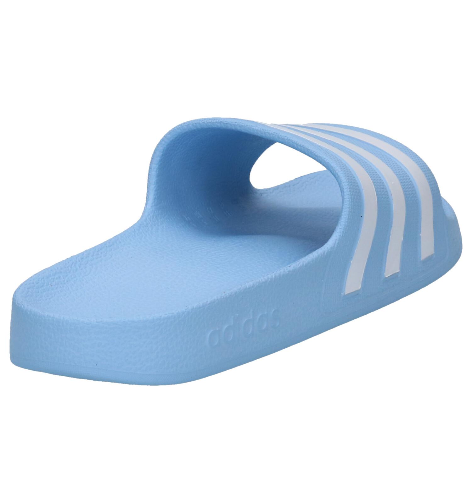 Slippers Adidas Aqua Blauwe Adilette Aqua Adilette Adidas Blauwe xQCstrBdh
