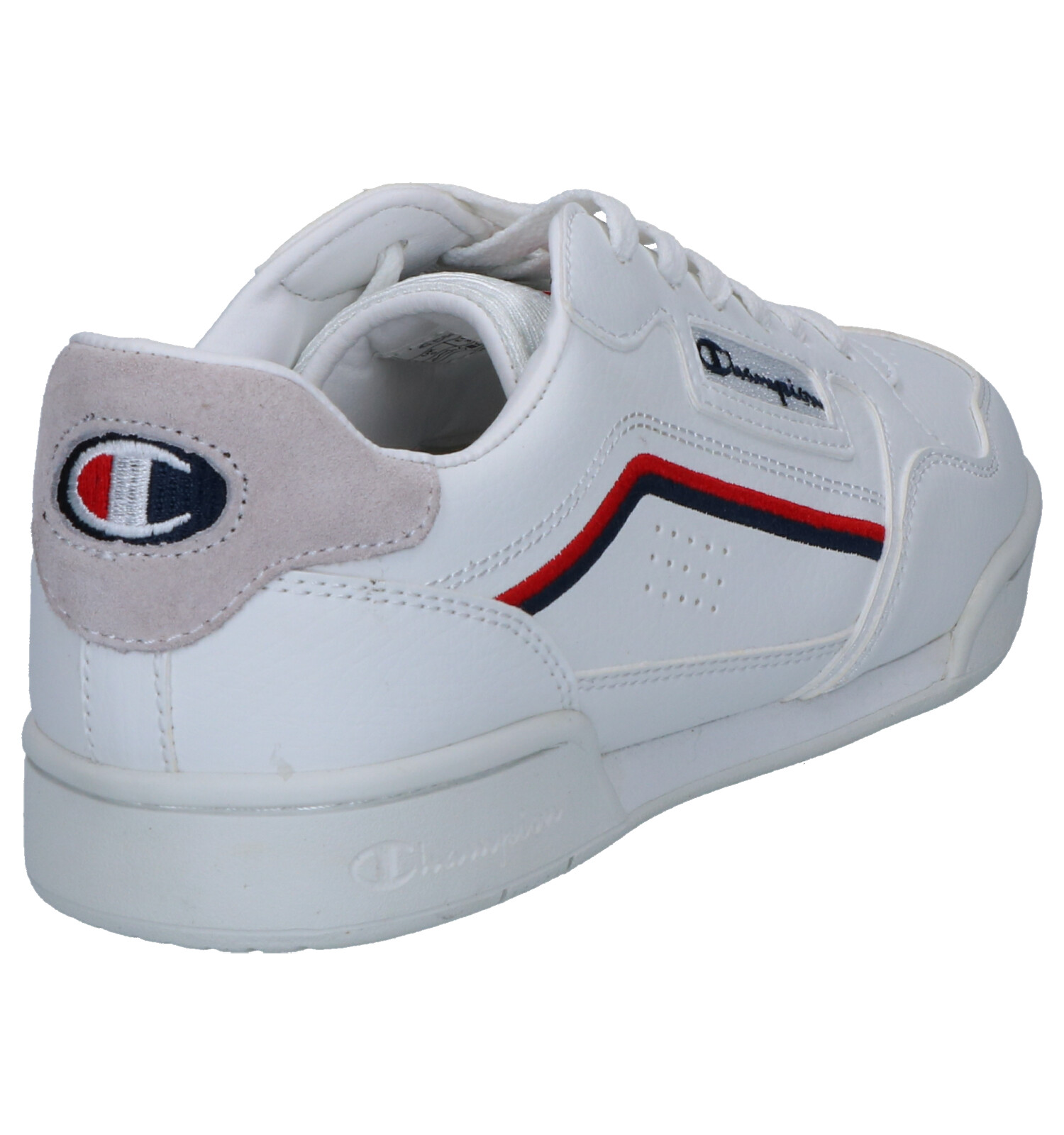 Champion Angeles Sneakers Witte Low Los eCordxB