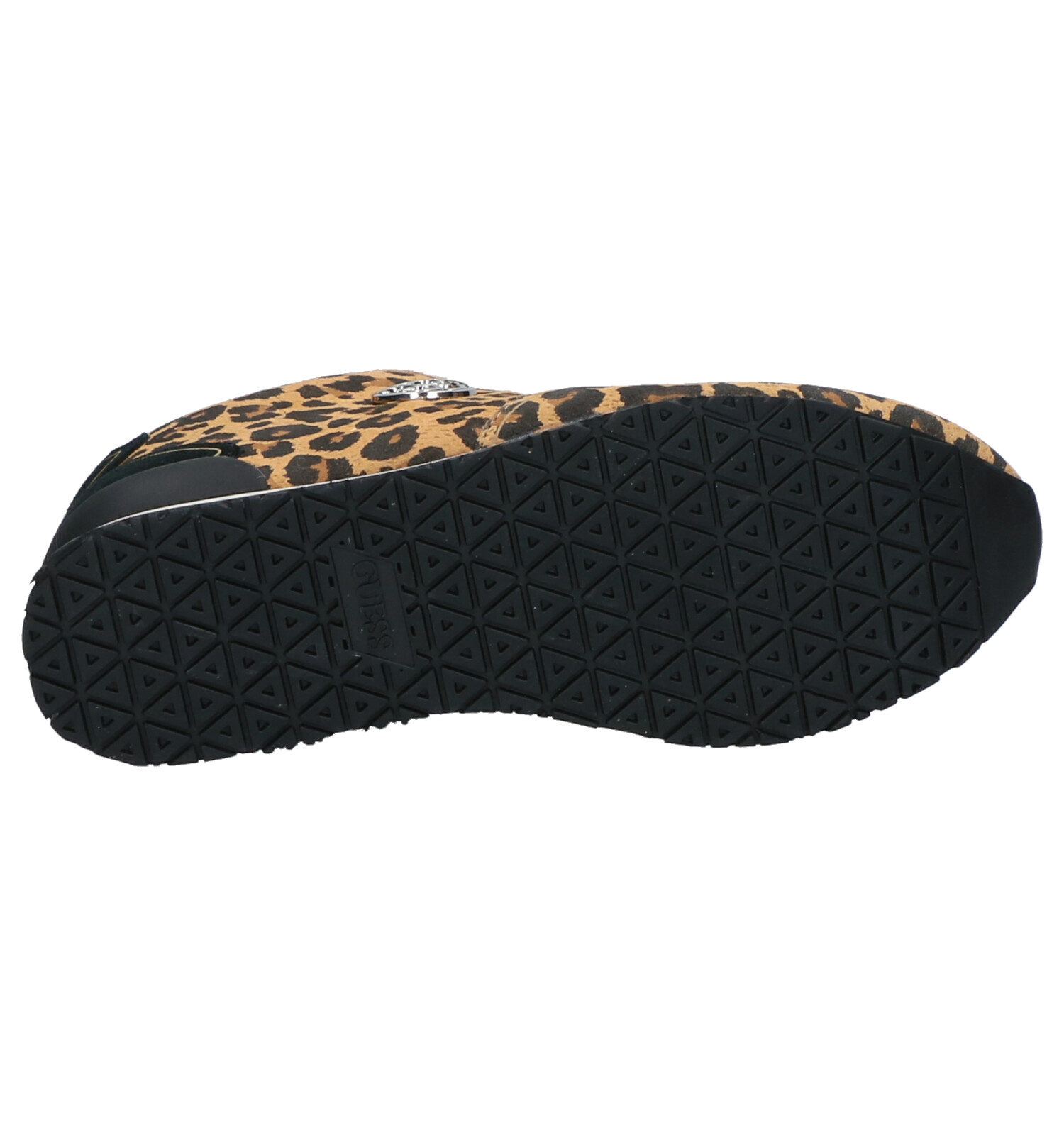 Guess Tessa Zwarte Sneakers | SCHOENENTORFS.NL | Gratis