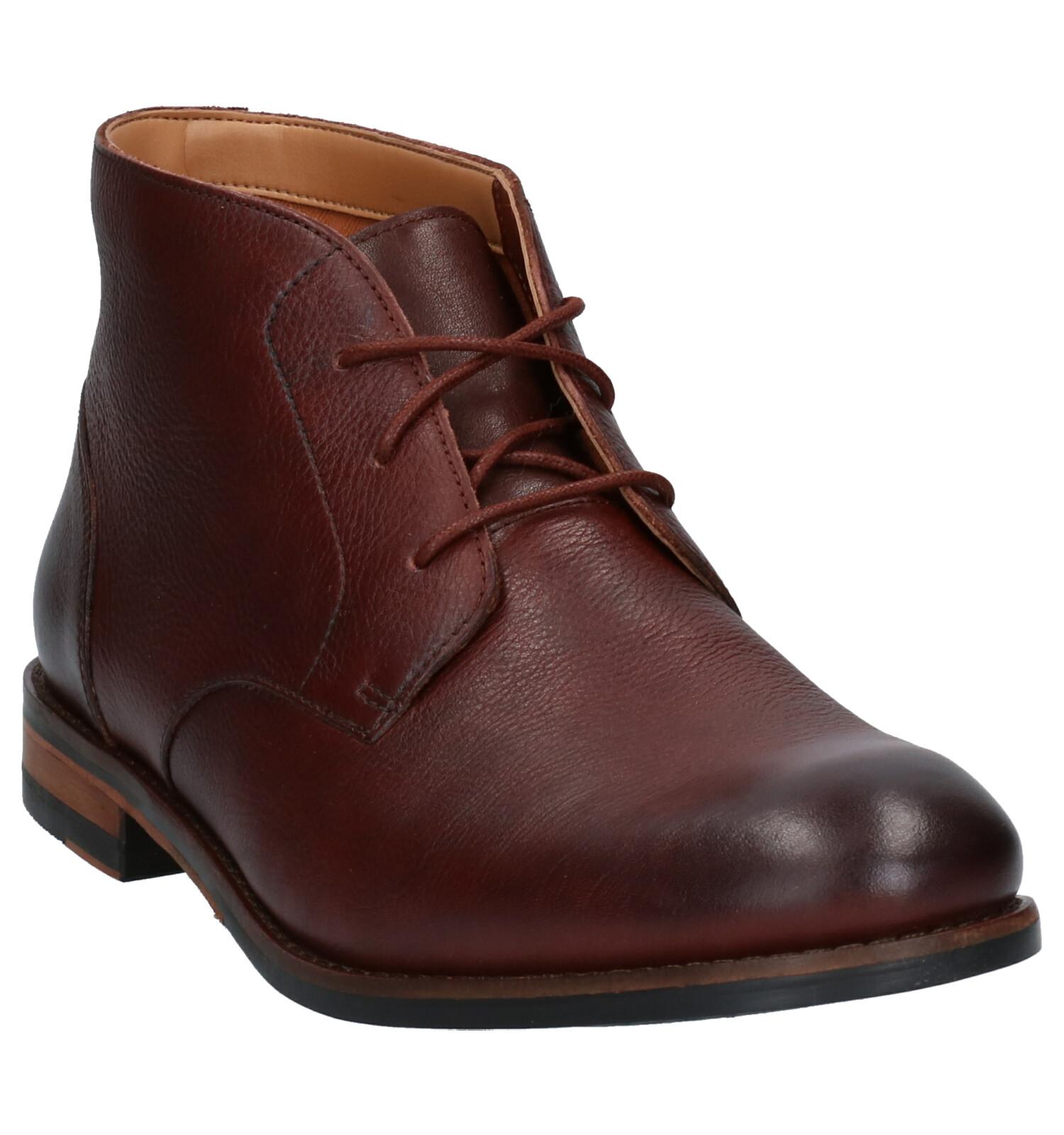 Flow Chaussures En Clarks Top Hautes Marron xrdBoeWC