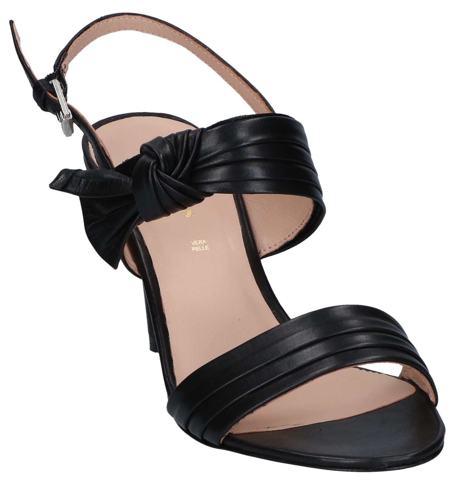 Zwarte Carmens Sophie Zwarte Sandalen Bow Sandalen AR4jc5SL3q