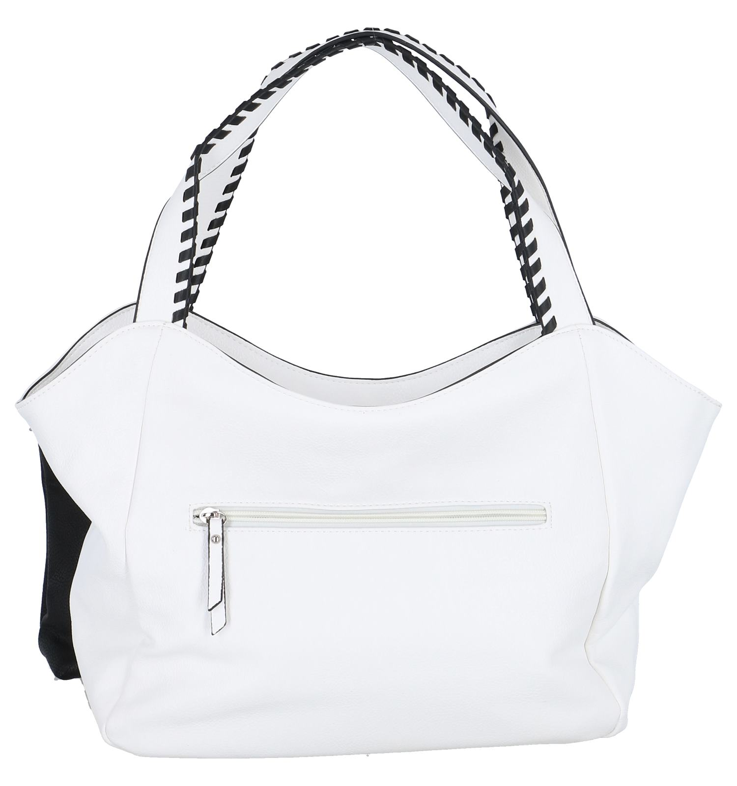 Witte Bag in Bag Schoudertas Emily & Noah | SCHOENENTORFS.NL
