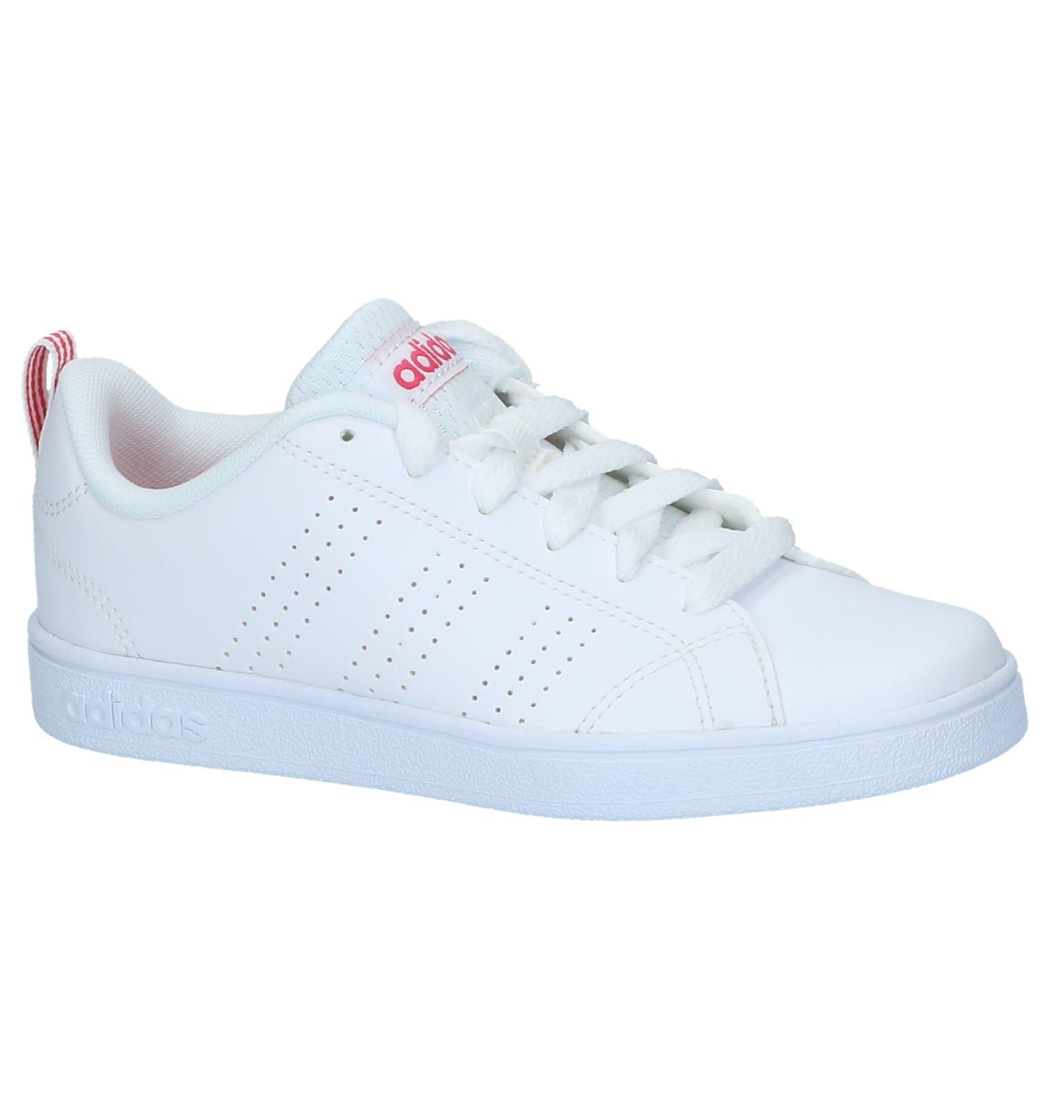 WitRoze Sneakers adidas VS Advantage Clean | SCHOENENTORFS.NL | Gratis verzend en retour