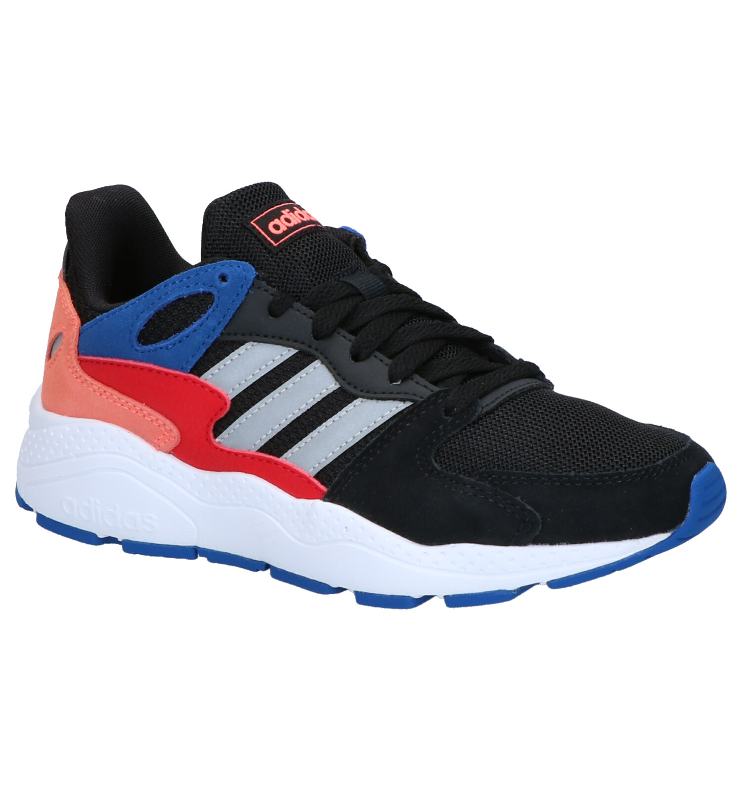adidas Crazychaos Zwarte Sneakers | SCHOENENTORFS.NL | Gratis verzend en retour