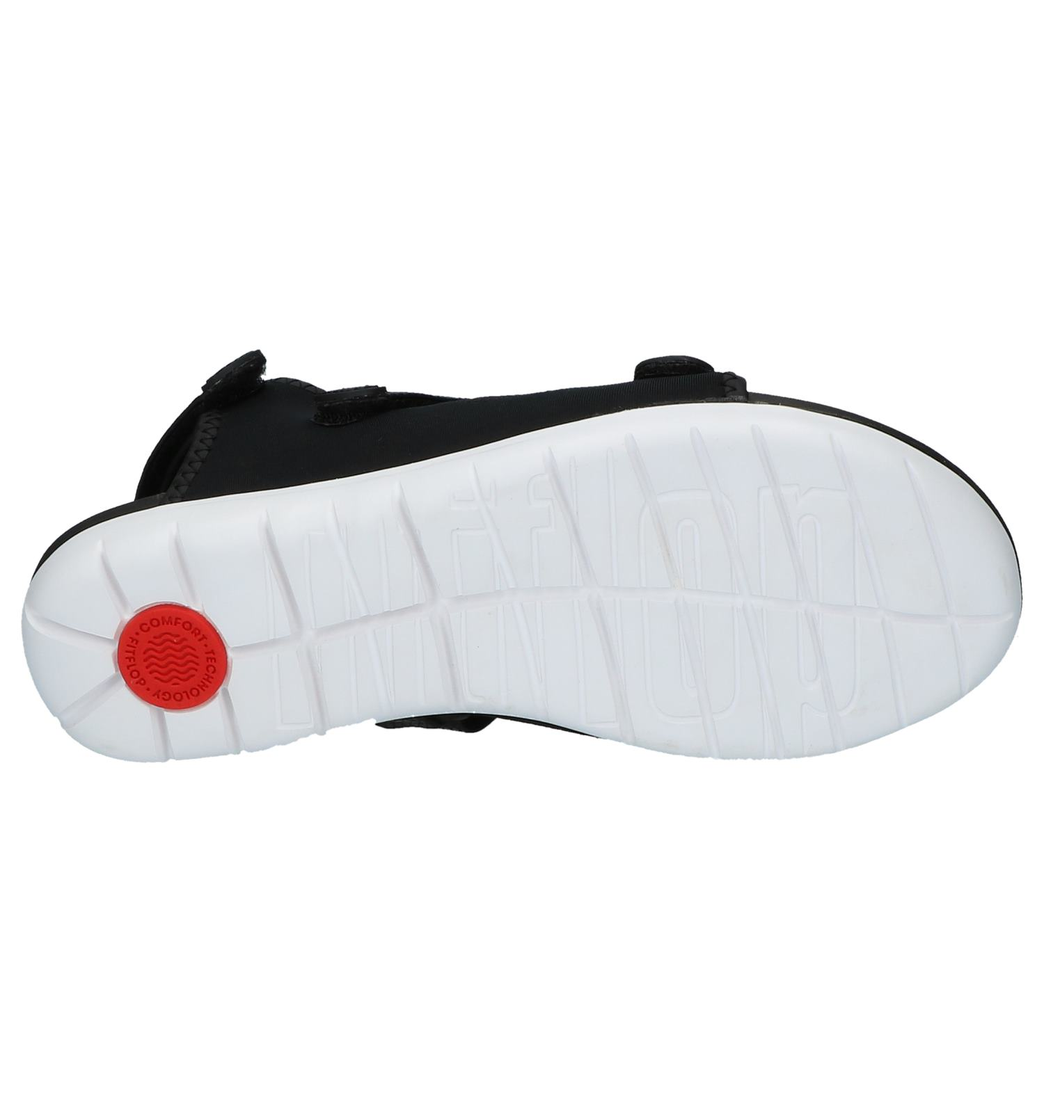 Neoflex Sandals Zwarte strap Sandalen Back Fitflop lFcKTJ1