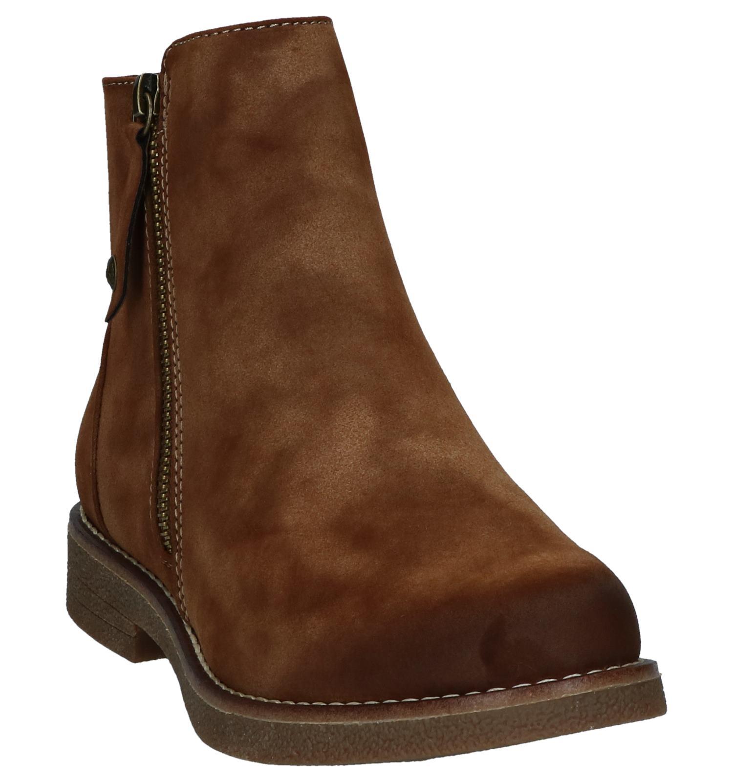 Rieker Geklede Rits Cognac Boots Met rdBoCex