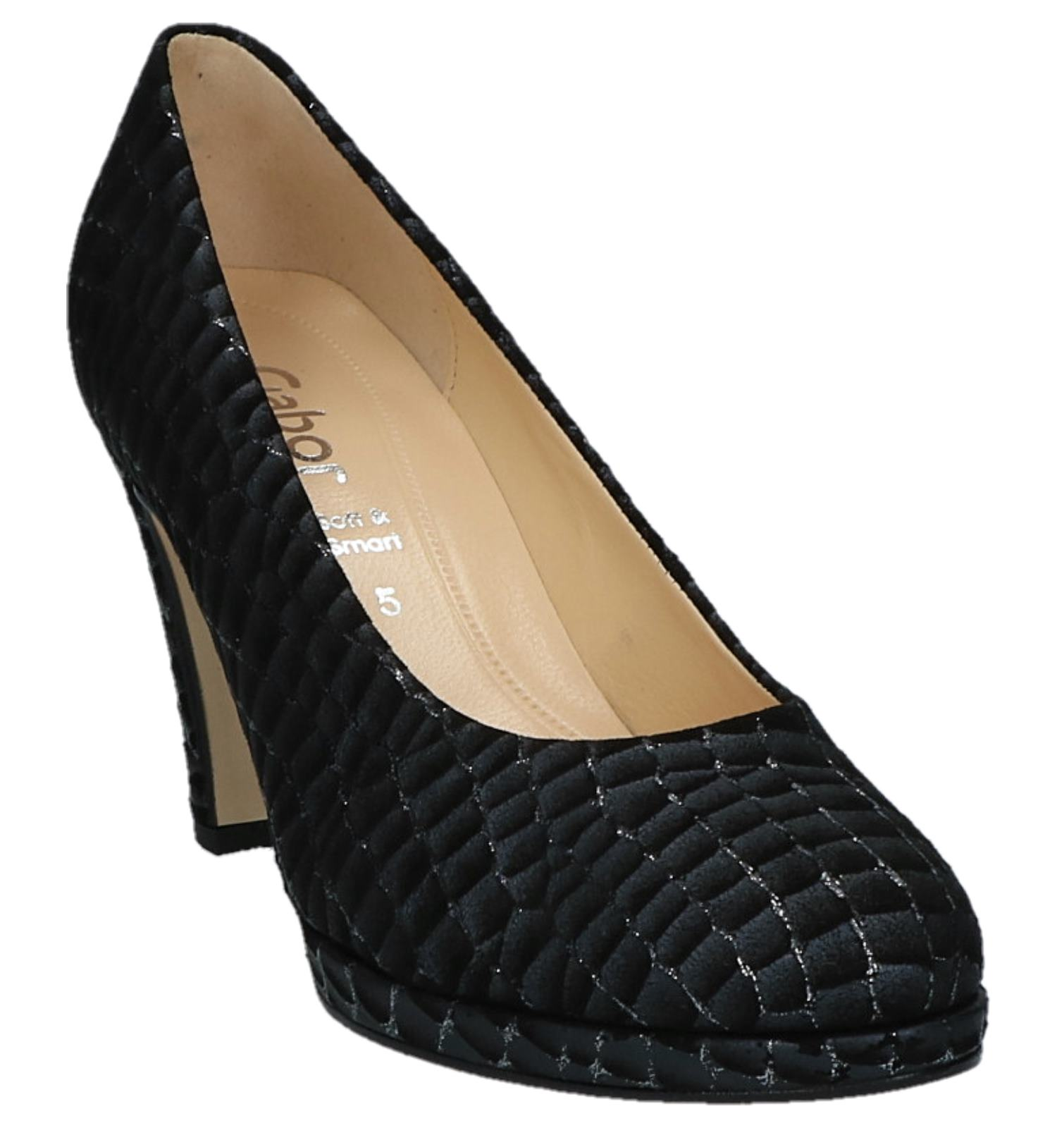Heels Zwarte Softamp; Gabor Pumps High Comfort DHIW9E2Y