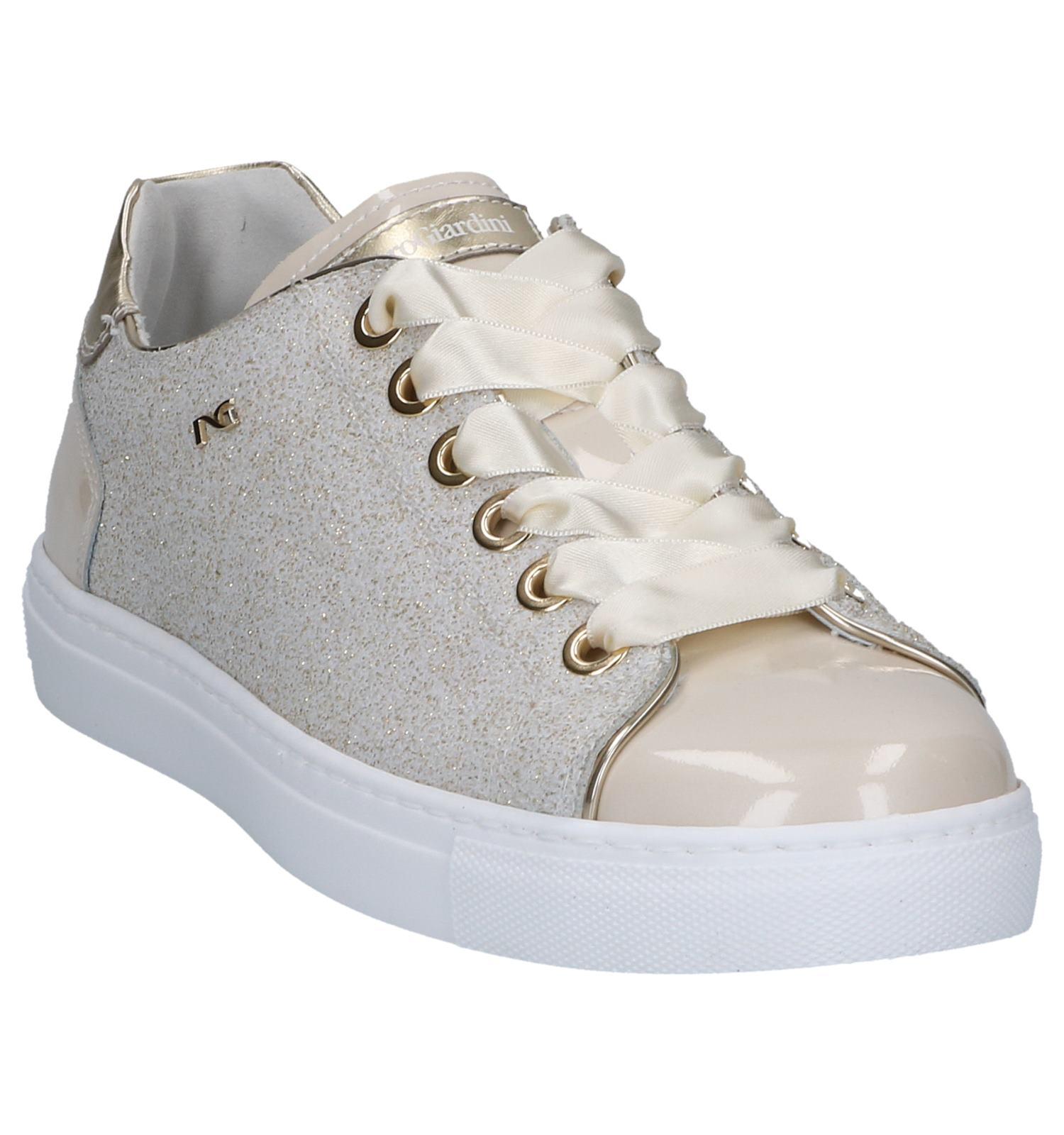 Nerogiardini Goud Goud Geklede Sneakers beige beige 3R5jL4A