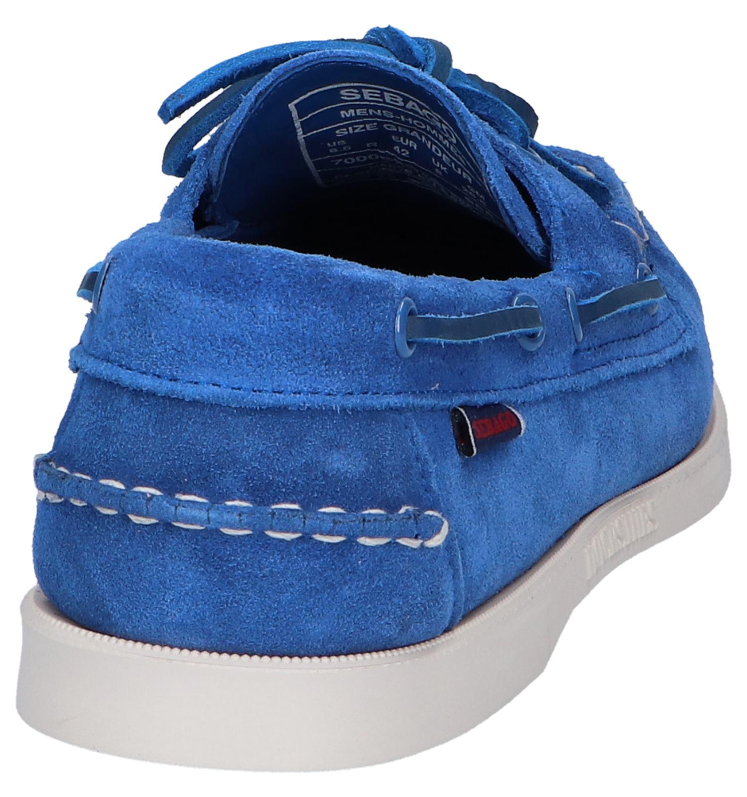Bootschoenen Blauwe Bootschoenen Blauwe Dockside Dockside Bootschoenen Sebago Sebago Blauwe 7yfgb6