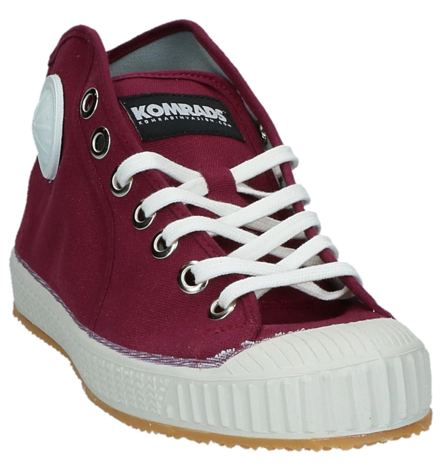 Hoge Bordeaux Belgrado Sneakers Komrads yv0wONn8m