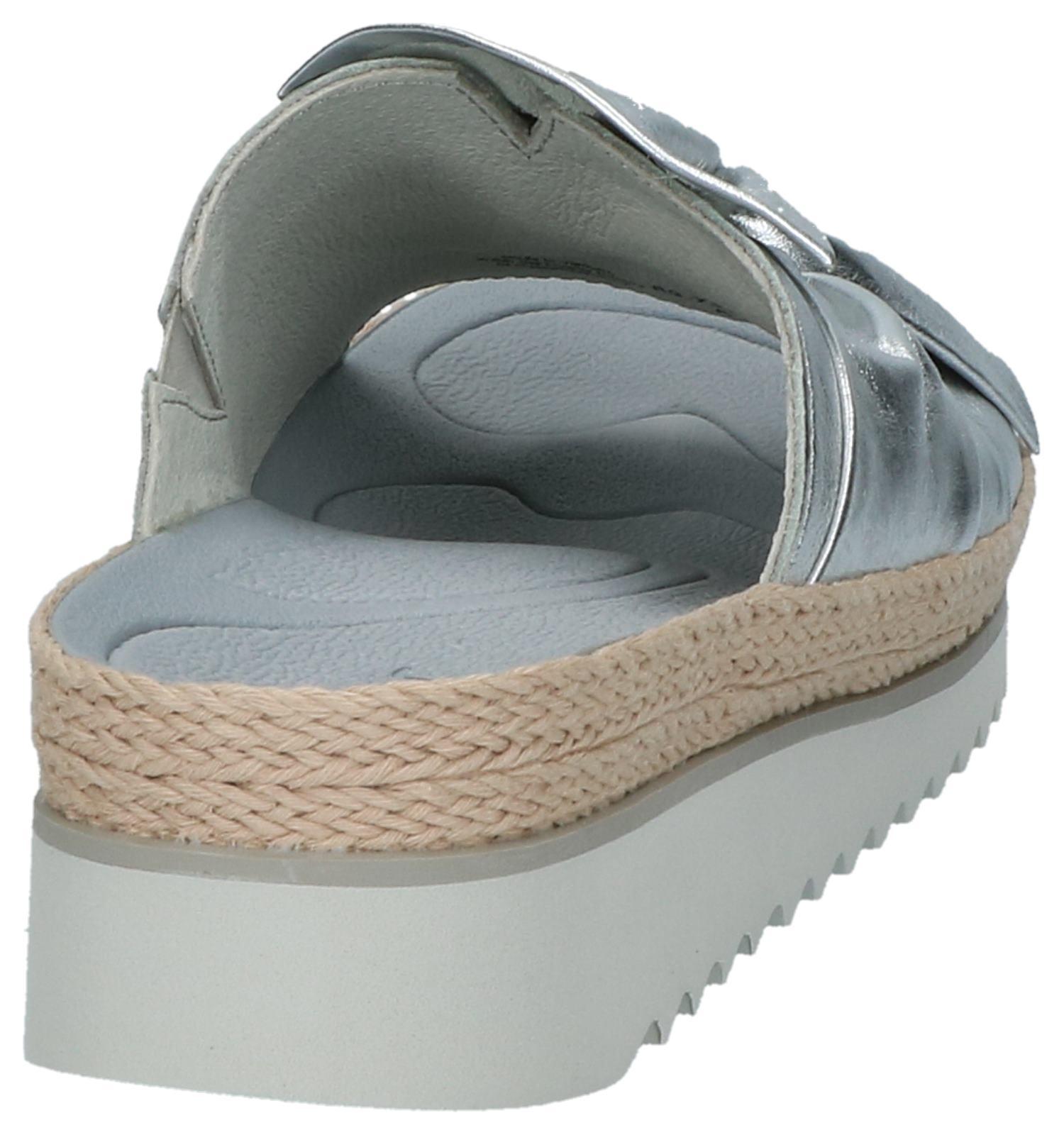 Zilver Comfortabele Gabor Slippers Best Fitting wOnNk80PXZ