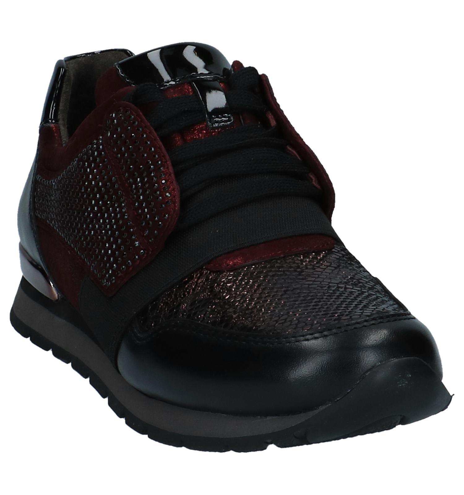Geklede Sneakers Bordeaux Gabor Geklede Gabor Sneakers Comfort Bordeaux nkP80Ow