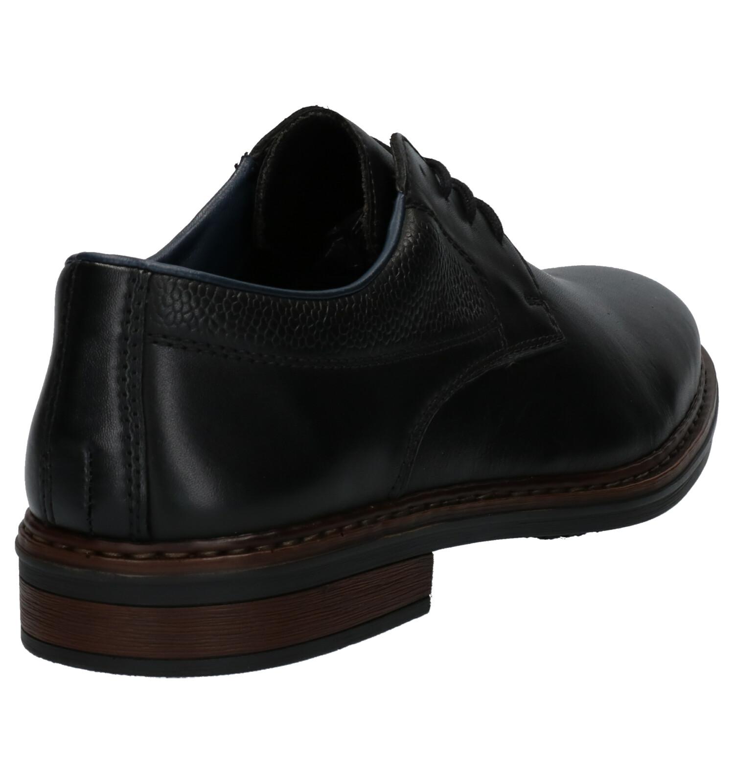Veterschoenen Zwarte Rieker Geklede Zwarte Rieker K3F1JuTlc