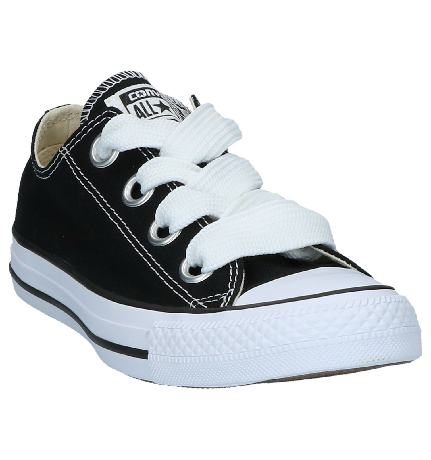 Eyelets Converse Taylor Ox Sneakers Zwarte Chuck Star All Big Yf7gyvb6