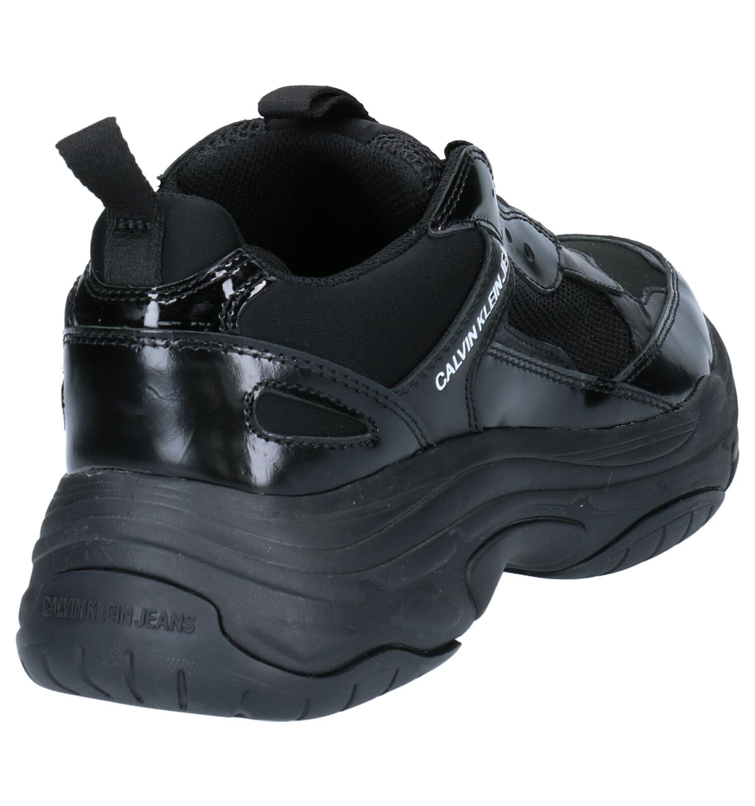 Klein Marvin Klein Calvin Sneakers Zwart Calvin Marvin DIYWH9eE2