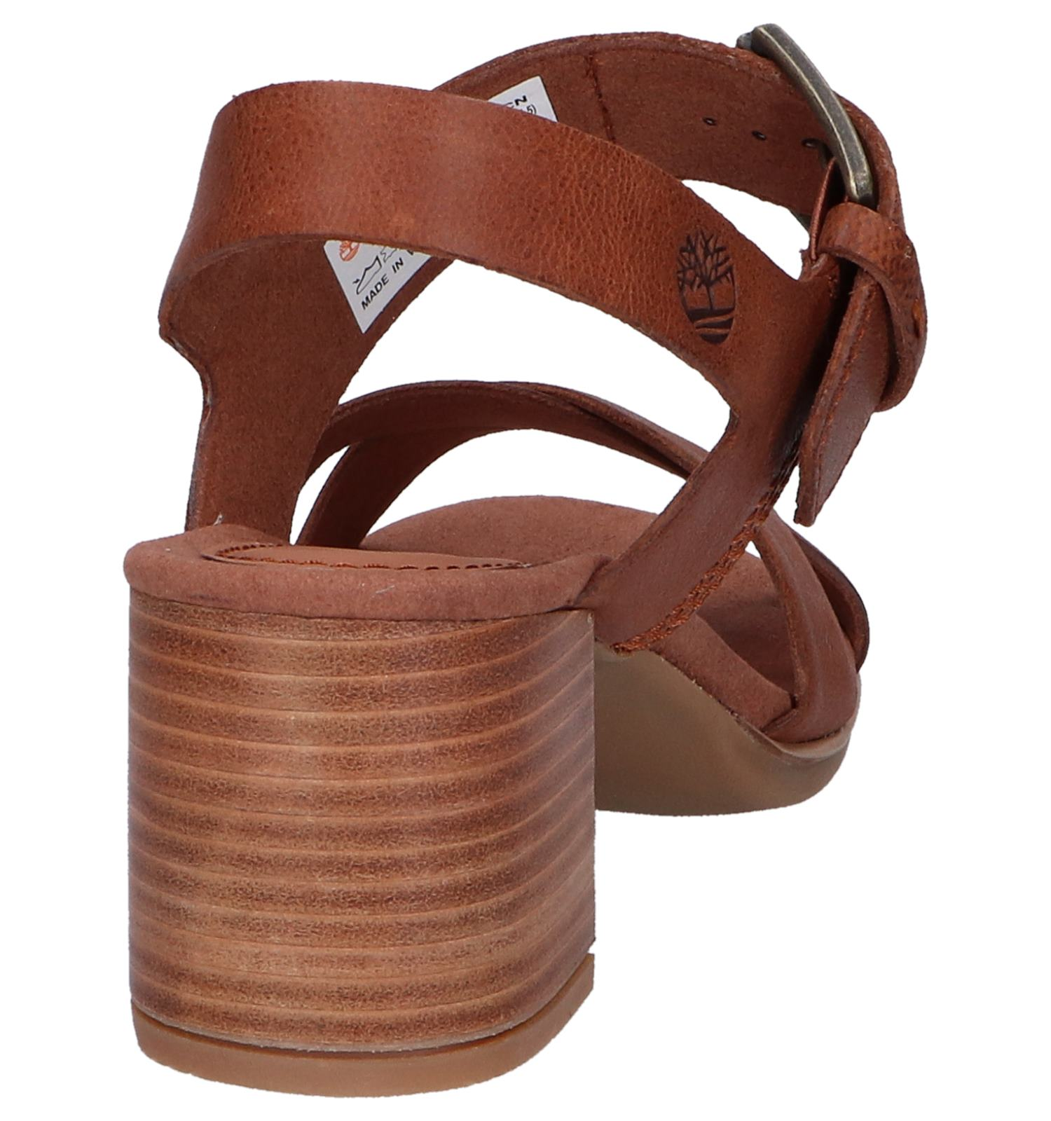 Sandalen May Cognac Cross Timberland Tallulah Y9IWHED2