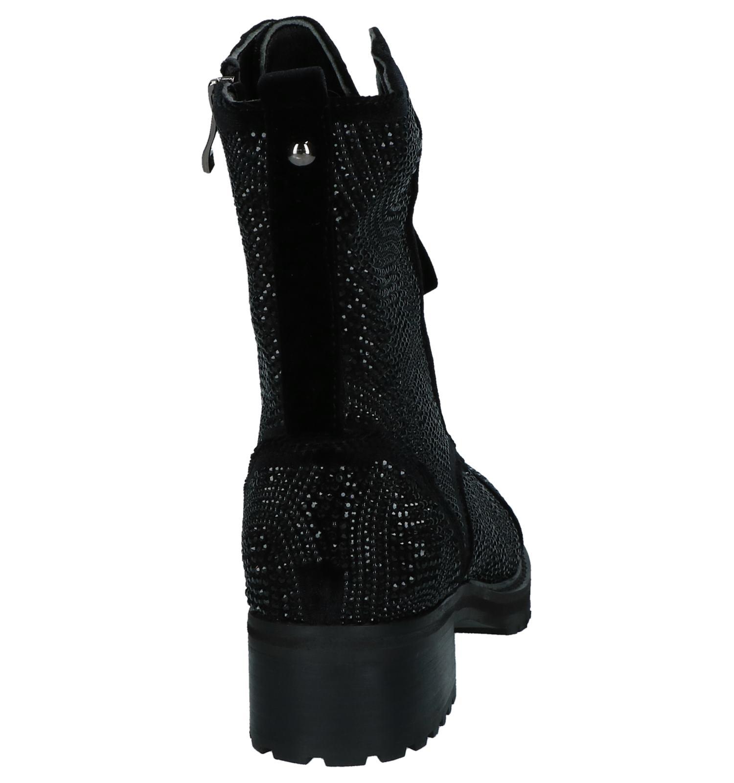 Pena En Met Steentjes Alma Boots f6gy7b