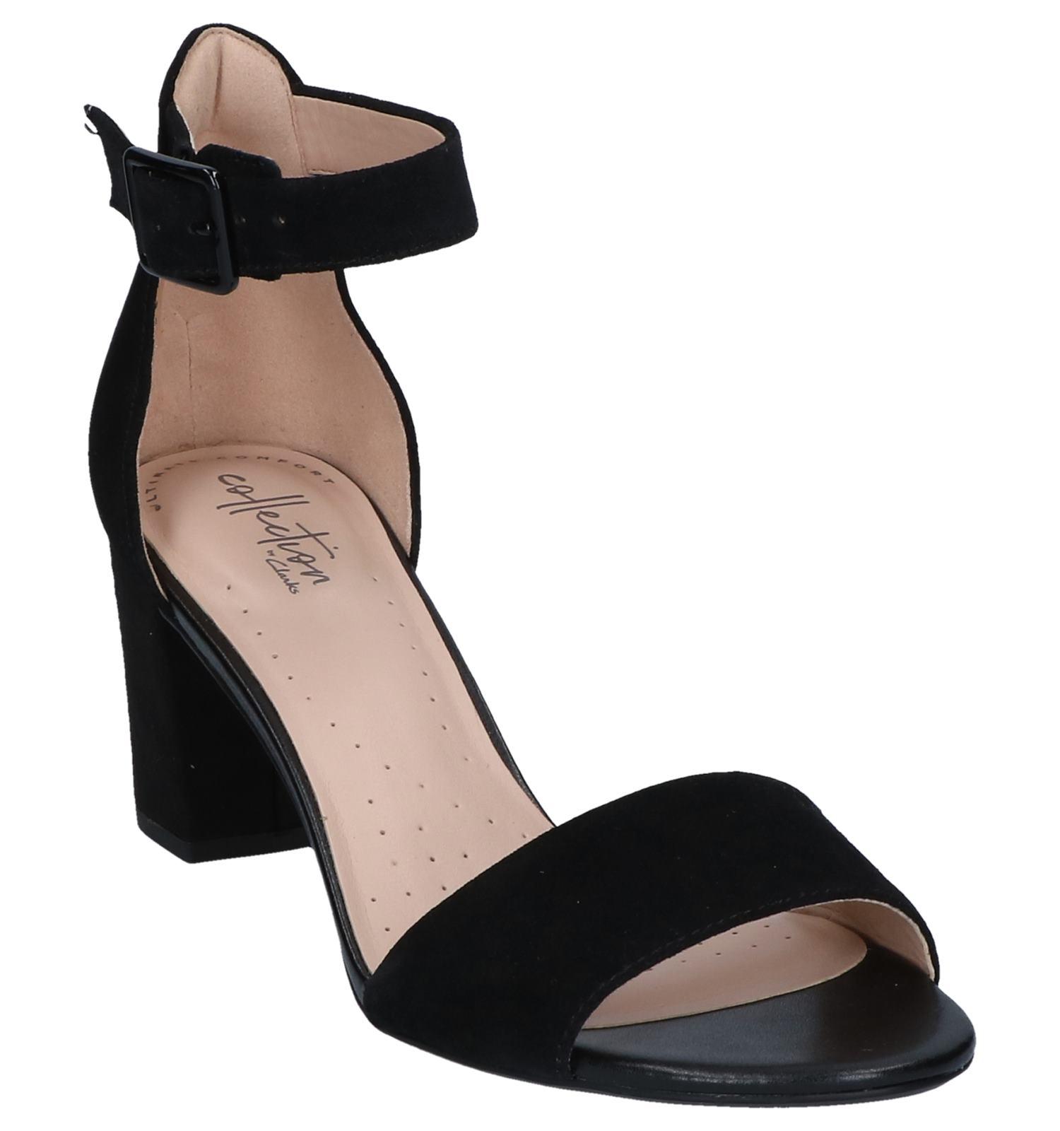 Zwarte Deva Sandalen Zwarte Sandalen Clarks Mae D2I9HEWY
